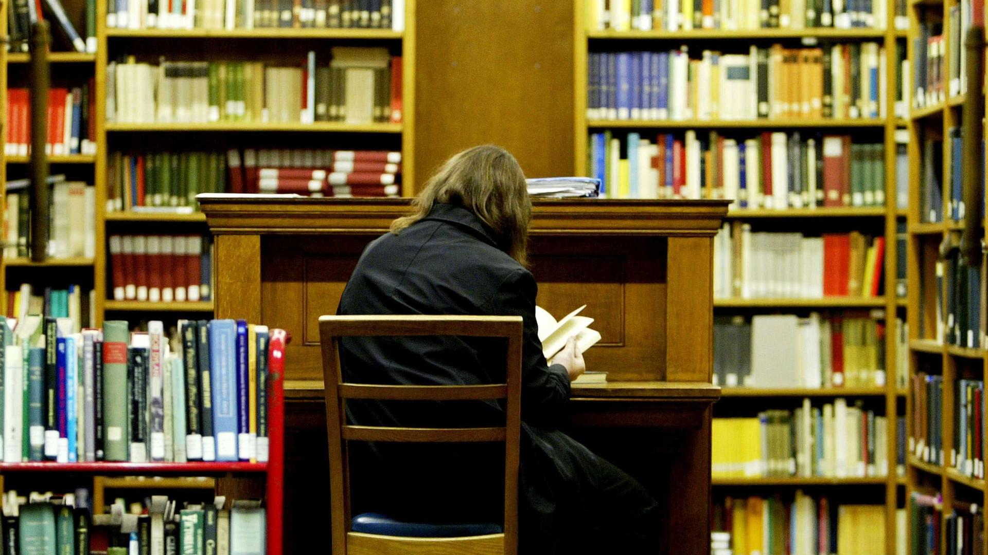 Bibliotecas públicas com mais leitores inscritos, mas menos visitas