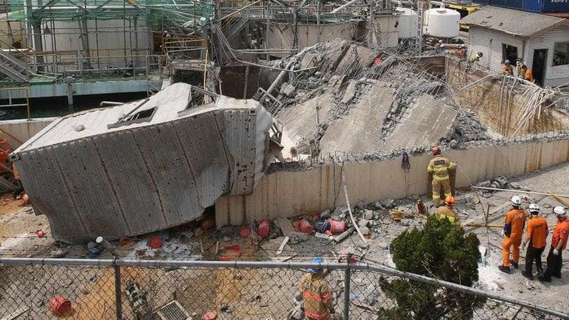 Um morto e 4 feridos em explosão em fábrica química na Coreia do Sul