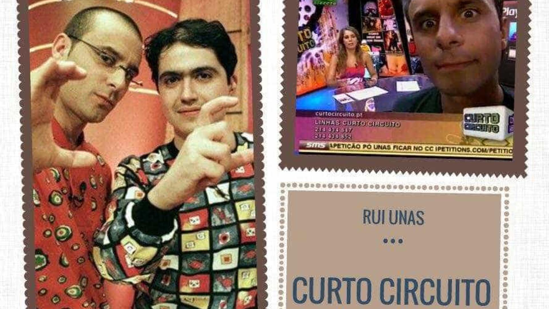 Rui Unas recorda a sua passagem pelo 'Curto Circuito'