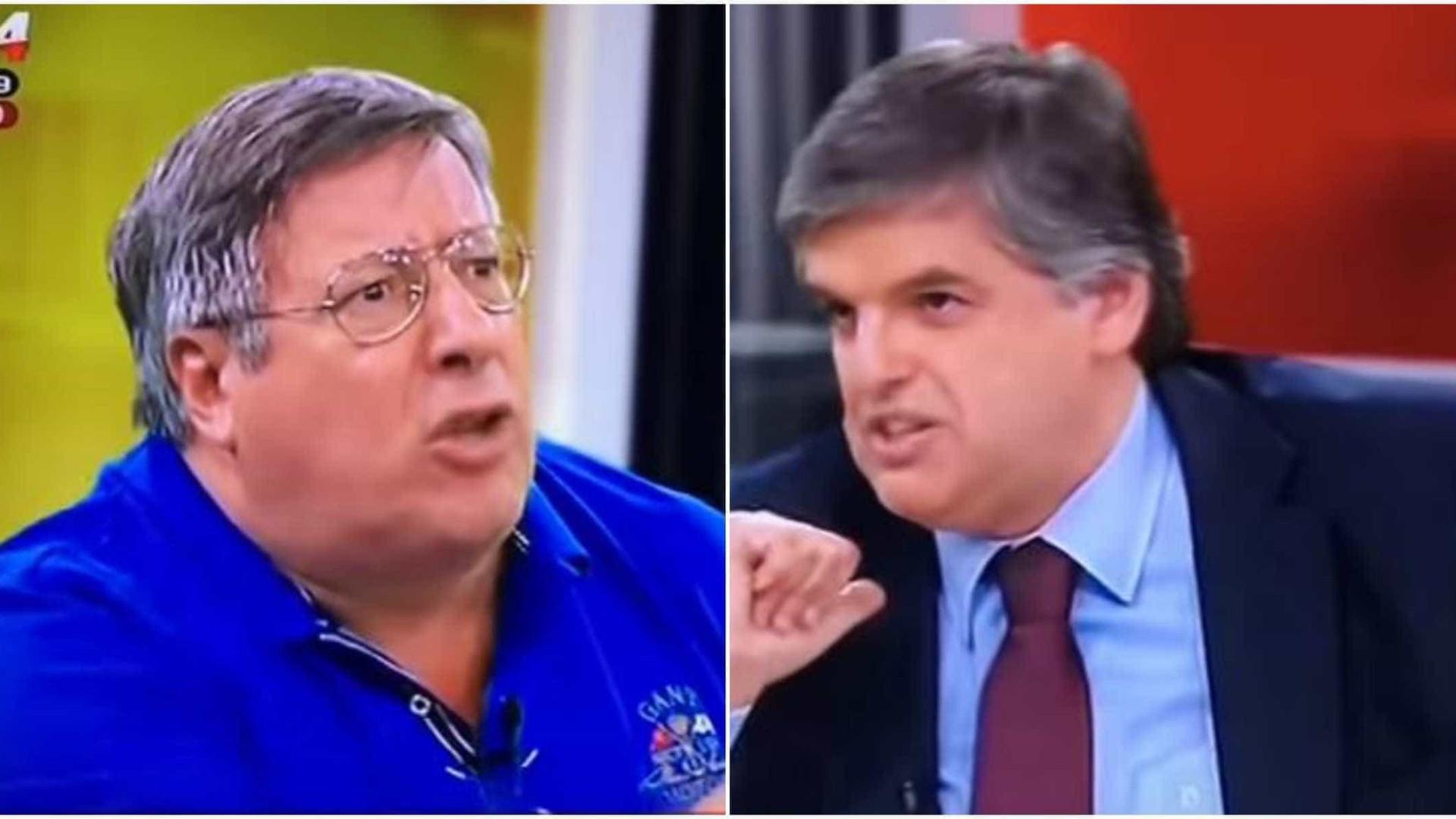 Acesa troca de palavras entre Manuel Serrão e Pedro Guerra já é viral