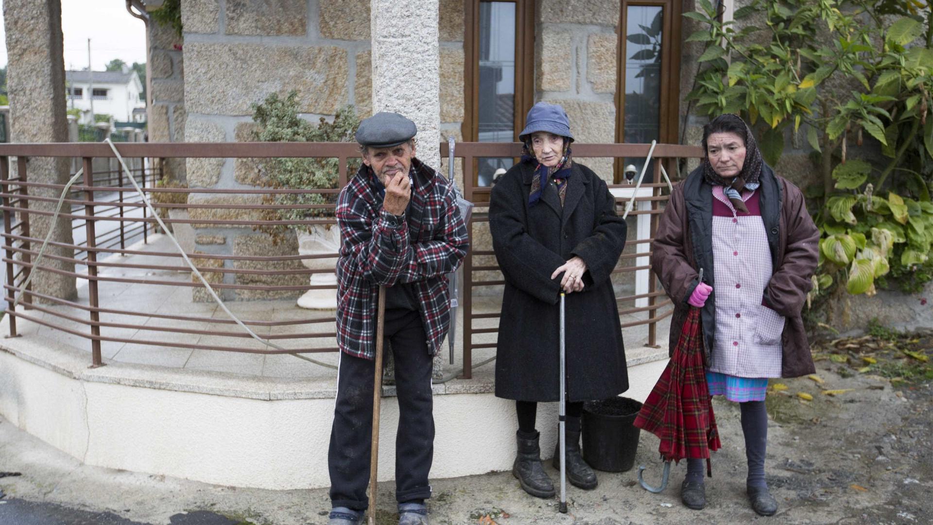 Nesta aldeia de Vila Real mal se dorme por causa do duplo homicida