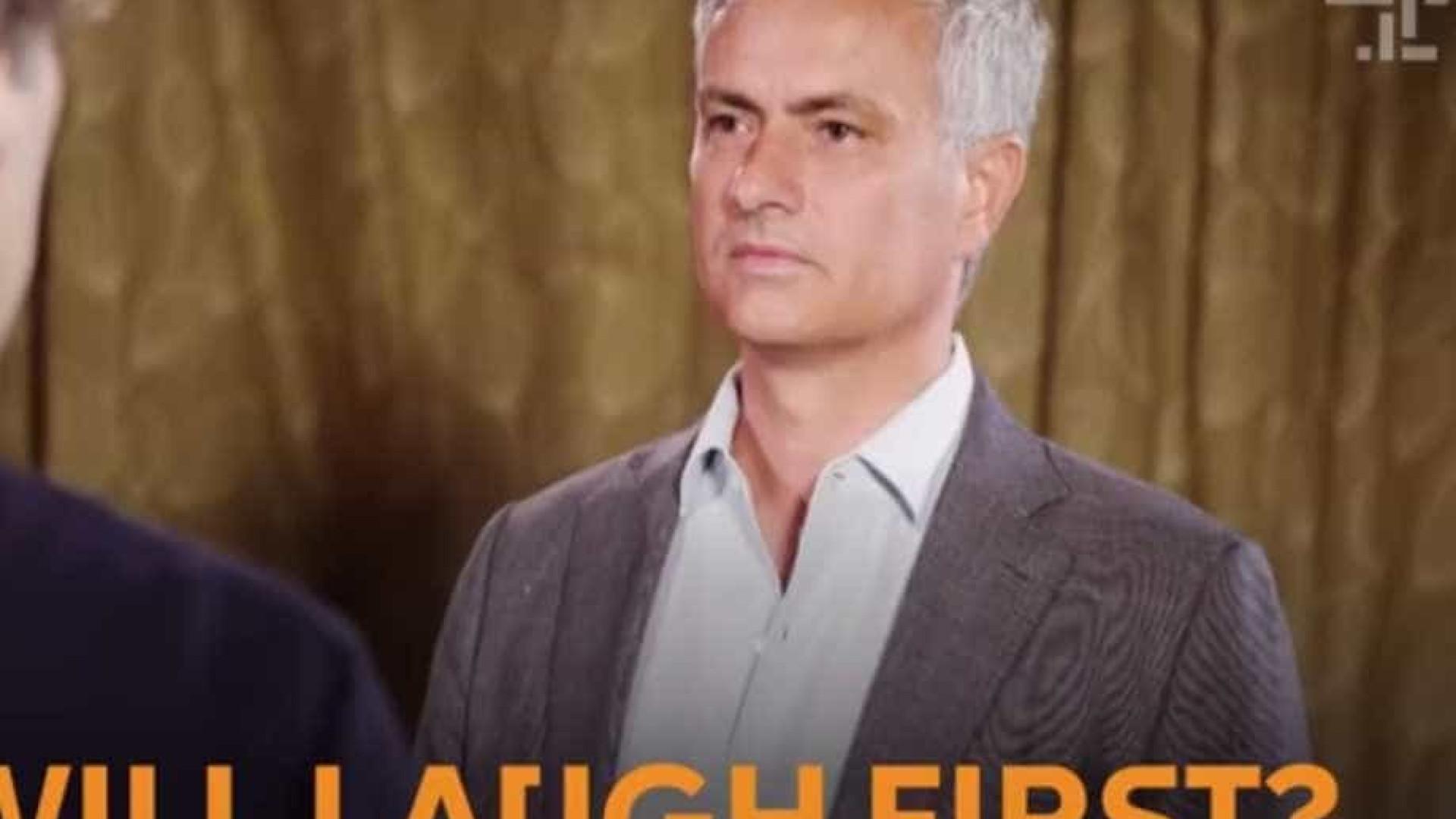Conseguirá Mourinho sair vitorioso...  no jogo do sério?