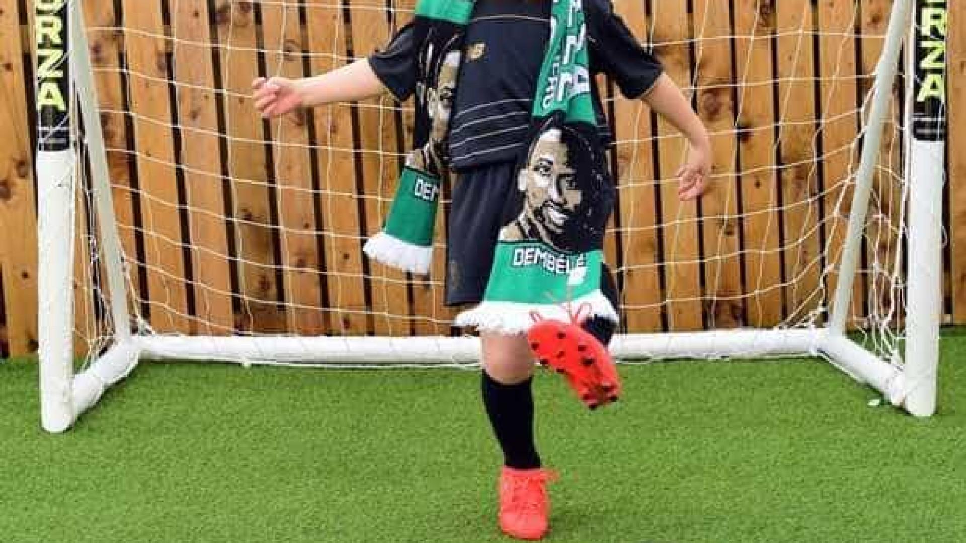 Criança de cinco anos falta a jogo com Celtic e pede desculpa ao clube