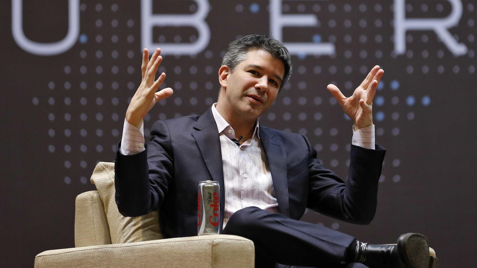 Uber enfrenta crise em seu comando