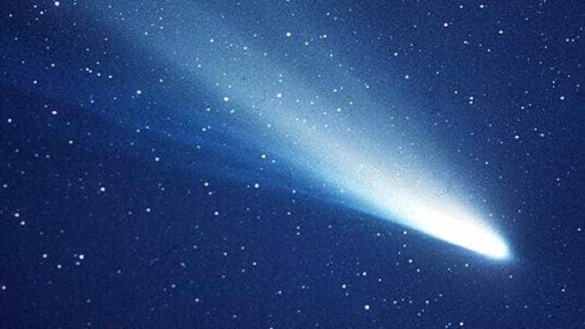 Passagem do cometa Halley encherá o céu de estrelas