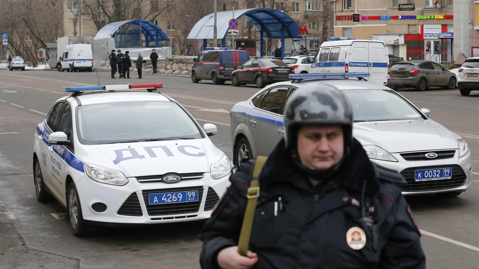 Pelo menos quatro mortos e 15 feridos em atropelamento em Moscovo