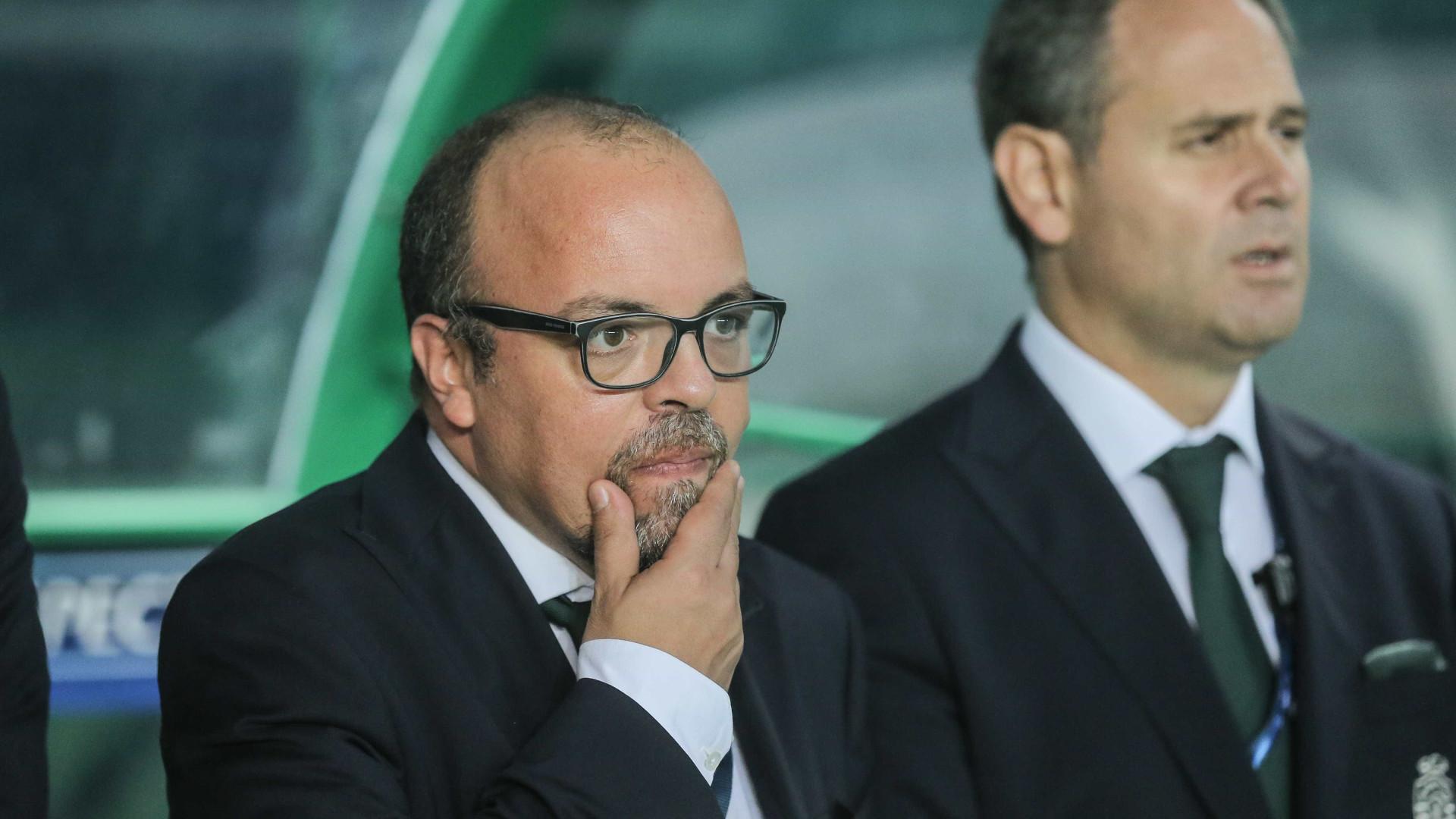 """""""No Sporting não podemos ficar contentes apenas com alguns sucessos"""""""