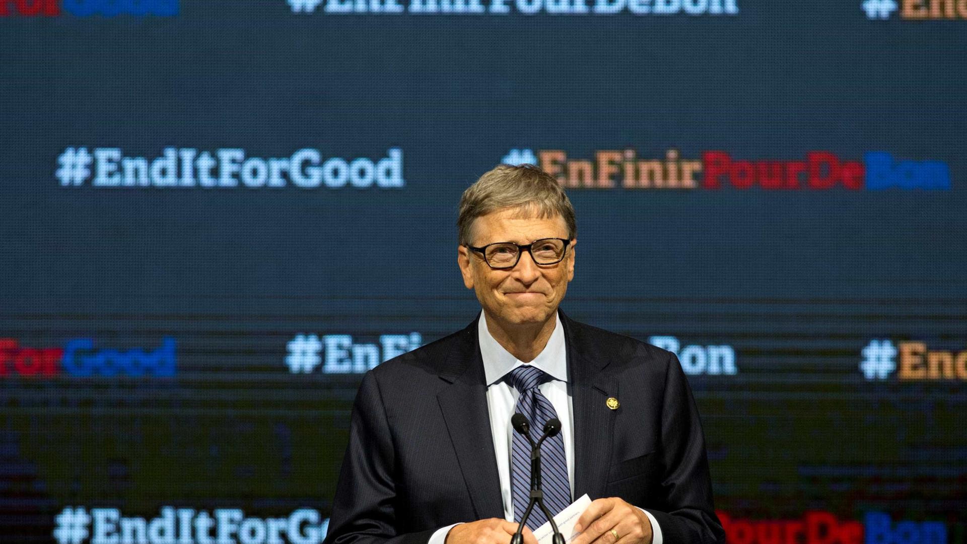 Bill Gates já não tem um smartphone Windows