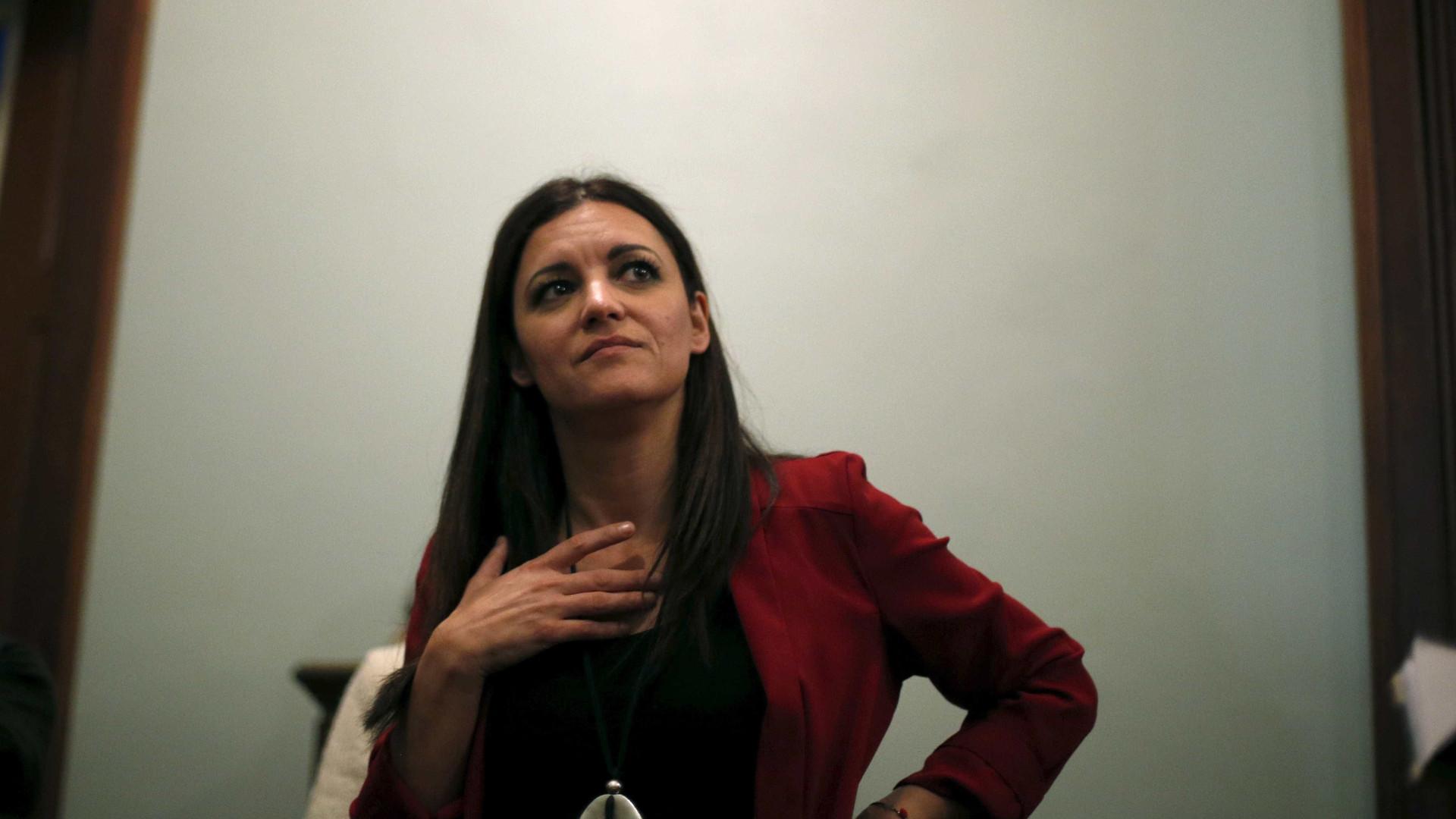 """Marisa Matias pede """"mais força"""" para o Bloco"""