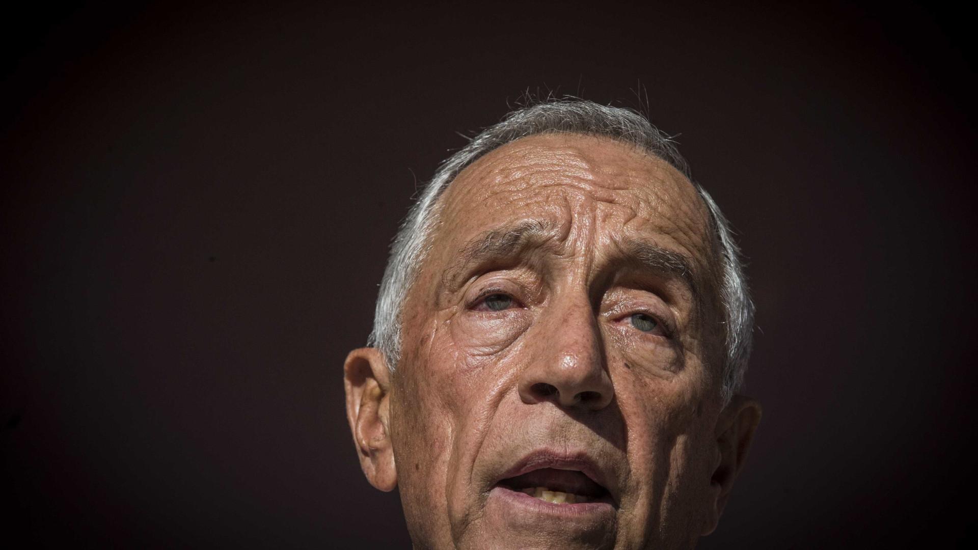"""Marcelo pede que se reduza """"drasticamente"""" número de sem-abrigo até 2023"""