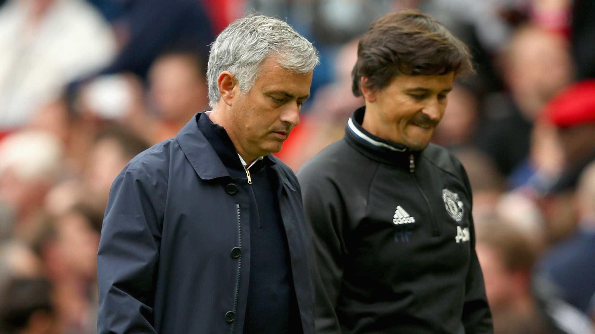 Rui Faria deixa equipa técnica de Mourinho no Manchester United