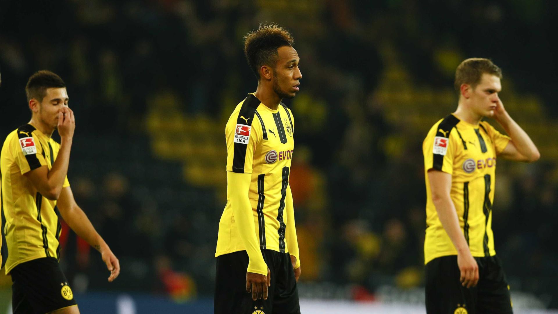 d43a4e7ccb Guerreiro regressa mas Dortmund empata antes de receber Sporting