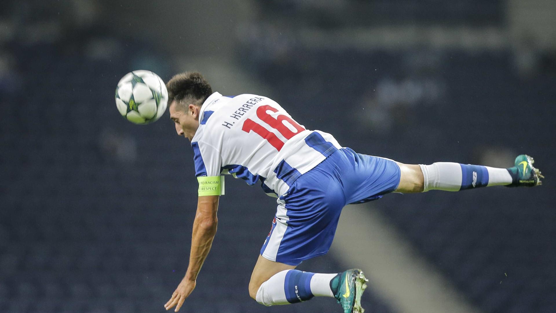Herrera pode sair do FC Porto e rumar à China já em janeiro