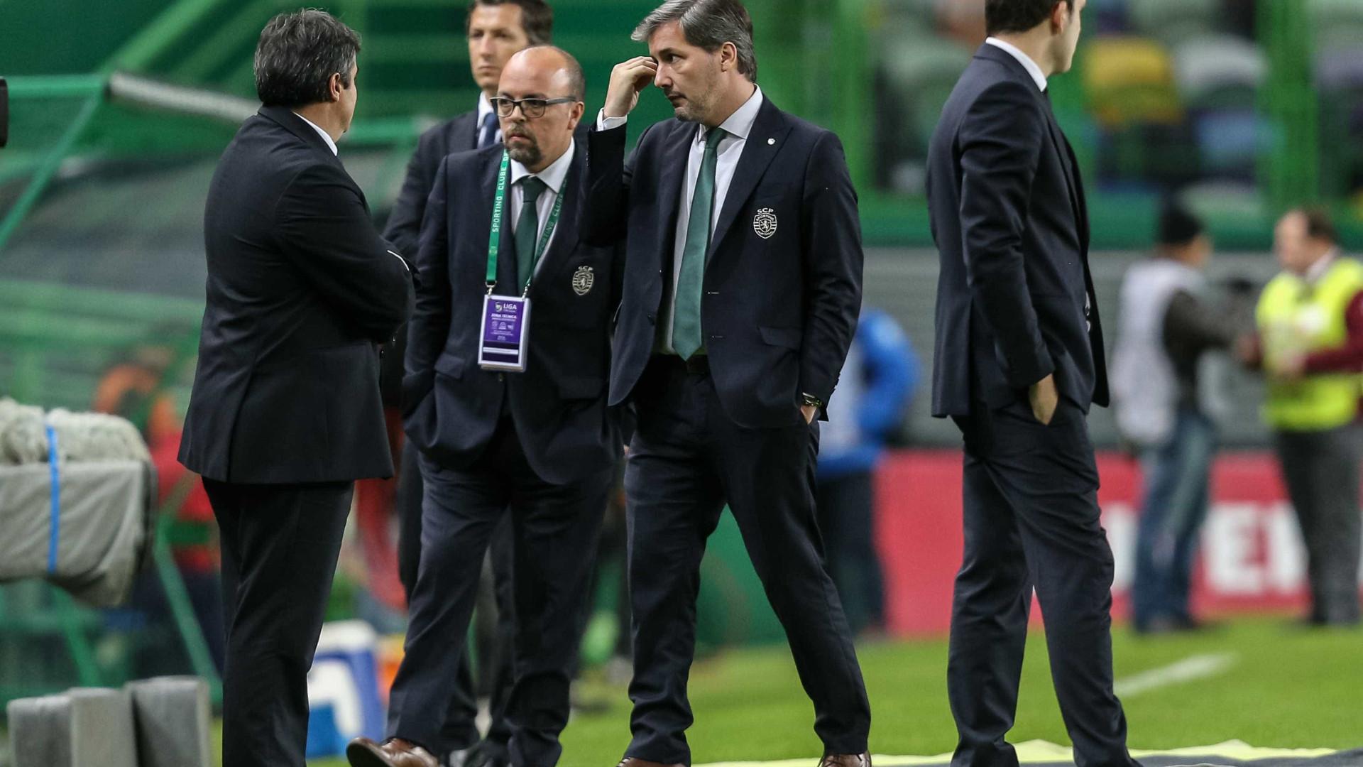 Bruno de Carvalho falha jogo do Sporting com o Rio Ave após indisposição