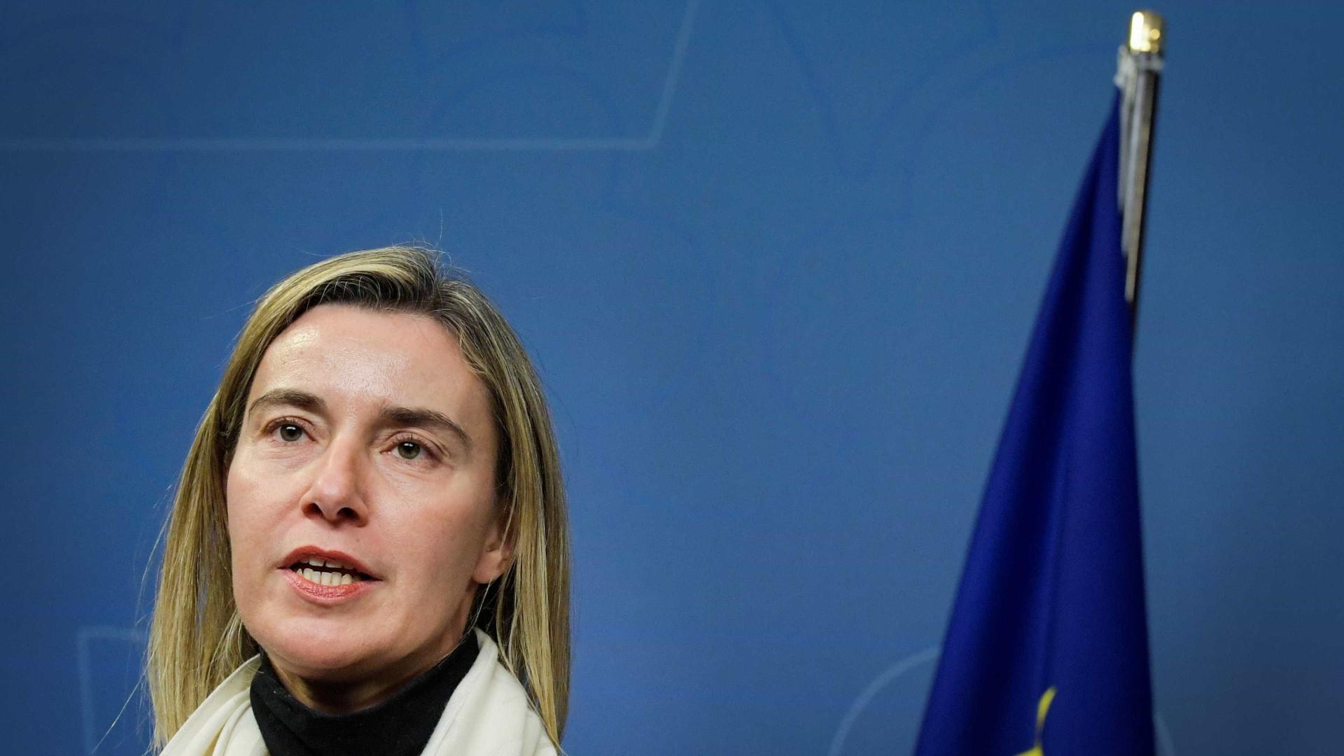 Mogherini diz que solidariedade deve ser a base da política da UE