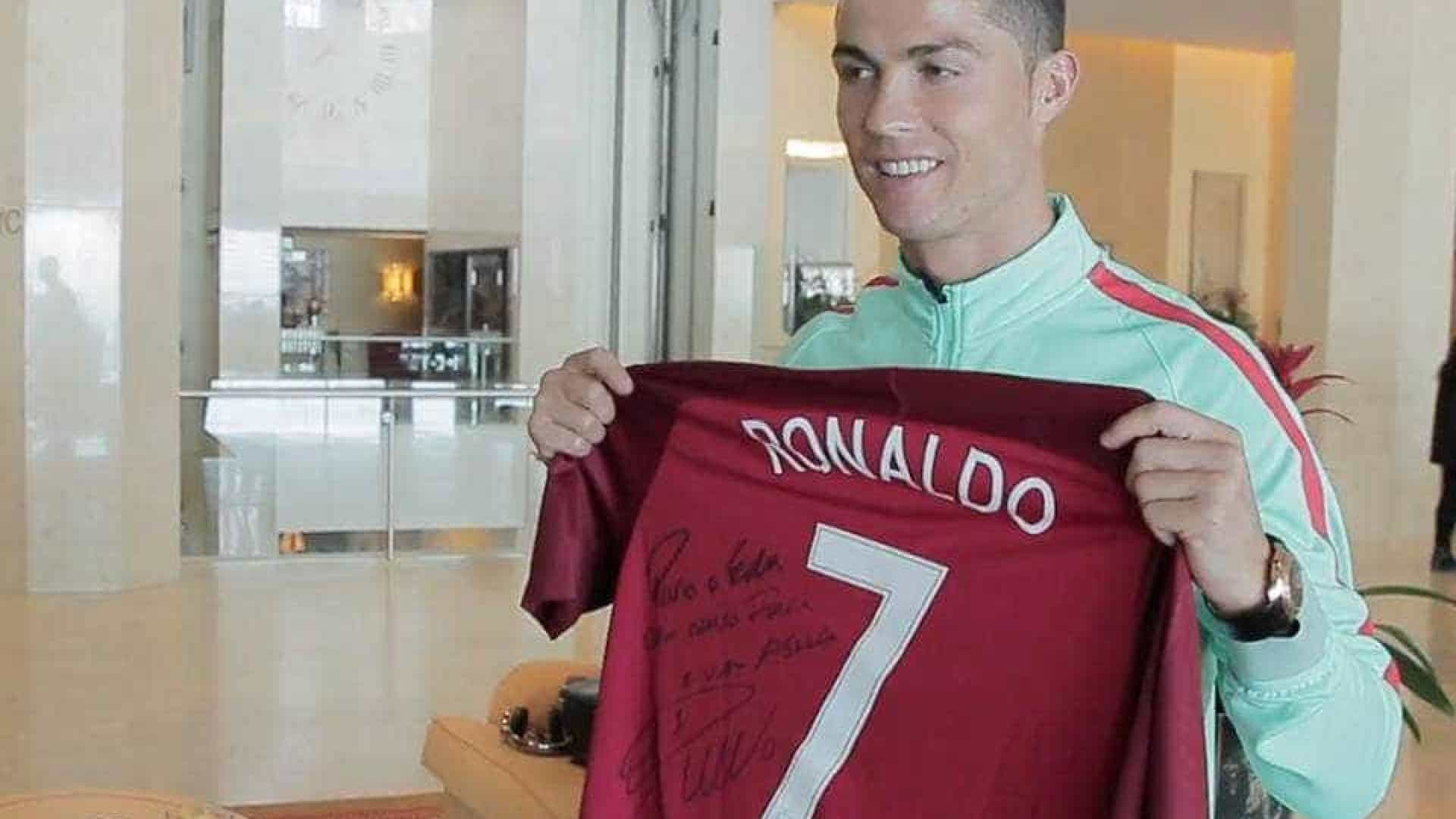 2cd9fcb97e Boavista agradece gesto solidário de Ronaldo