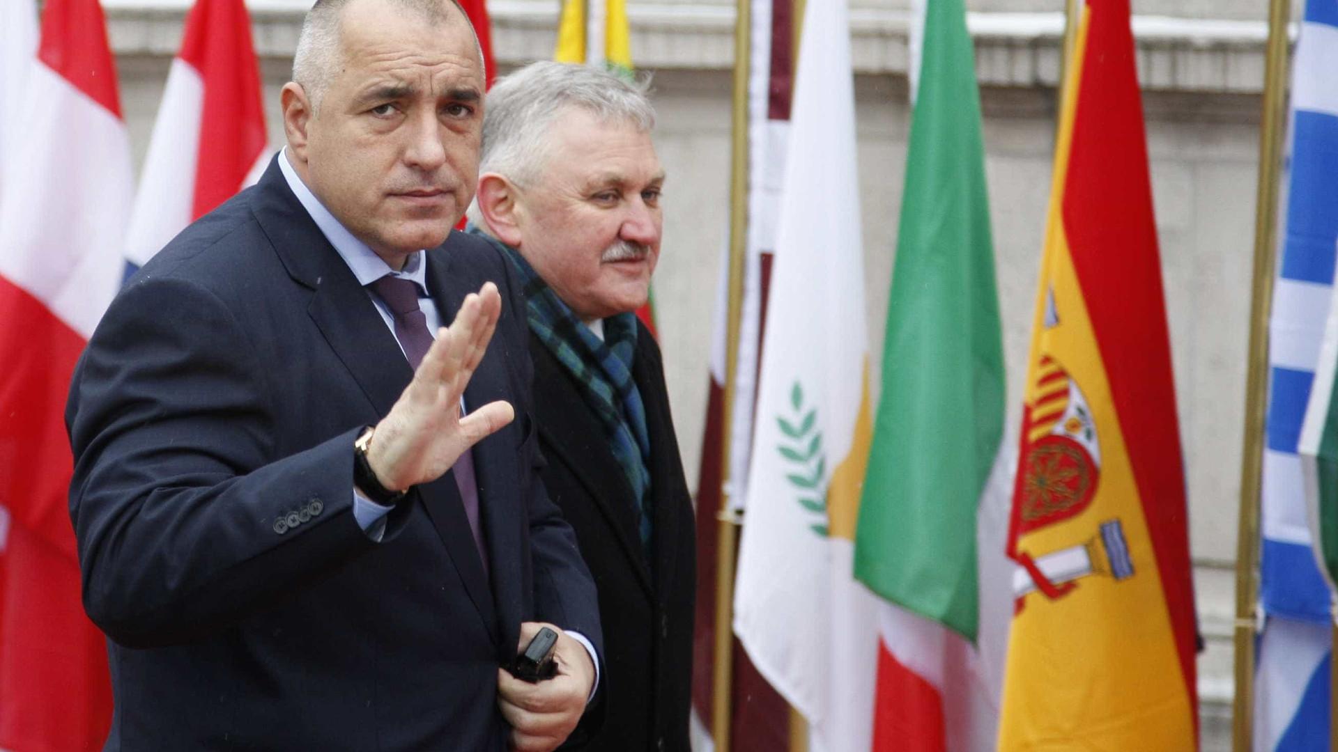 """Borissov diz que país pode integrar """"imediatamente"""" espaço Schengen"""
