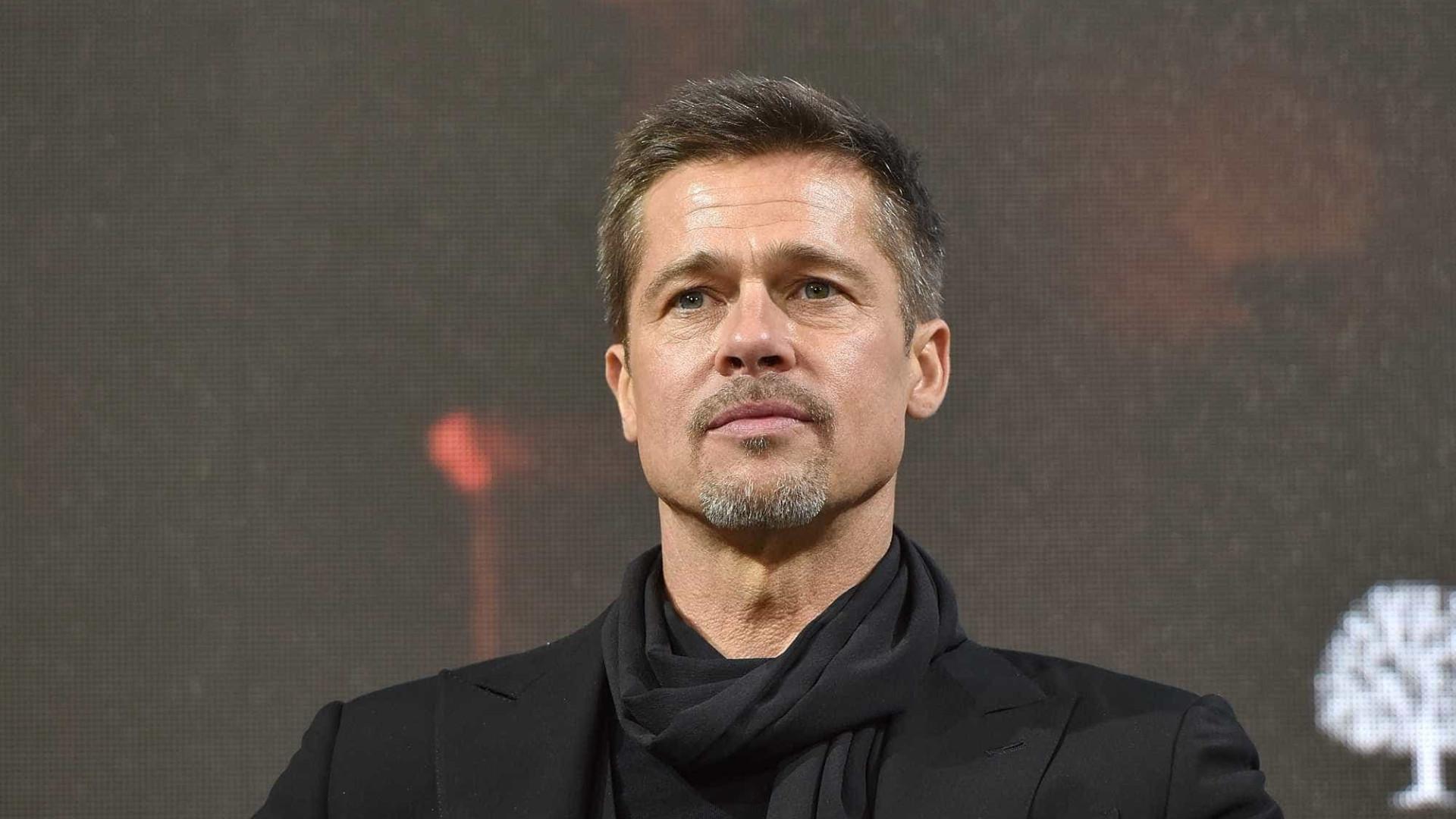 """Brad Pitt """"em choque"""" com a morte dos amigos"""