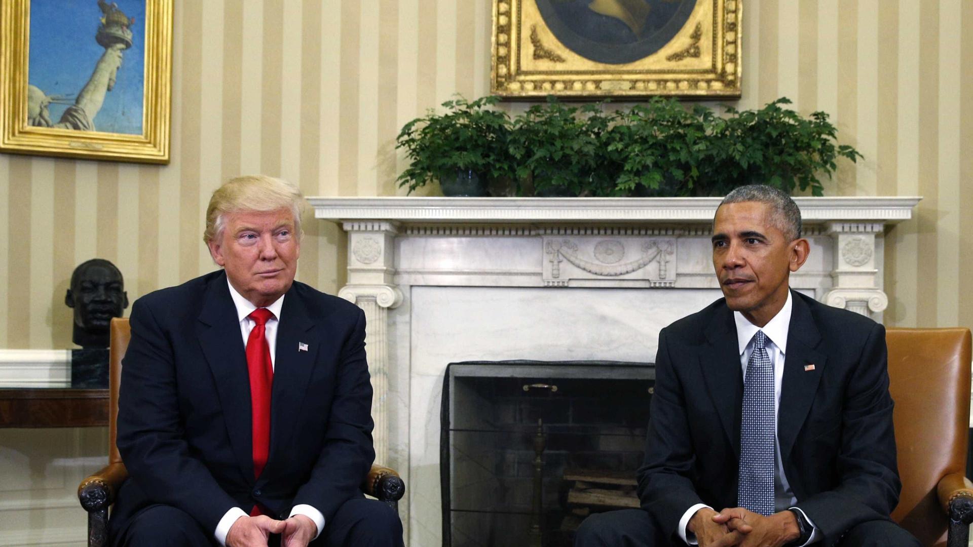 Trump não vai retirar acusações contra Obama... nem desculpar-se