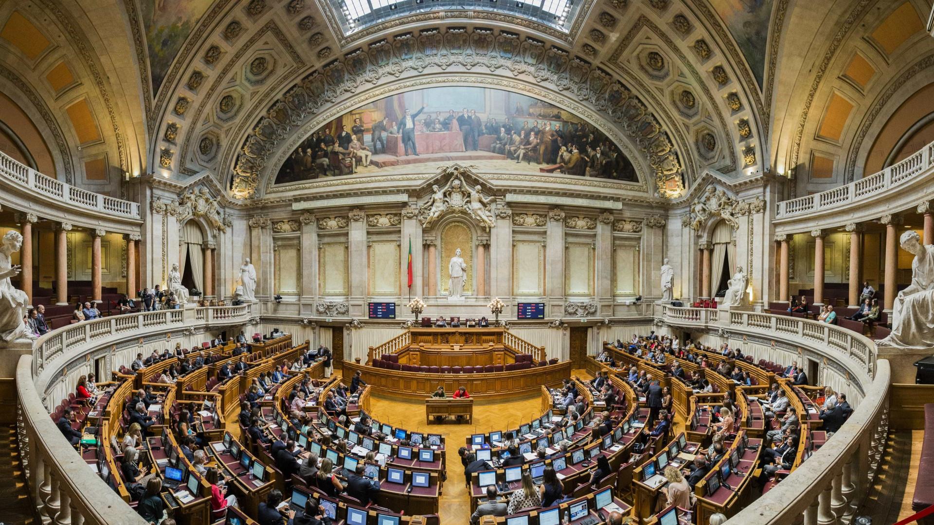 Alterações ao RSI apreciadas na sexta-feira na AR a pedido de PSD e CDS