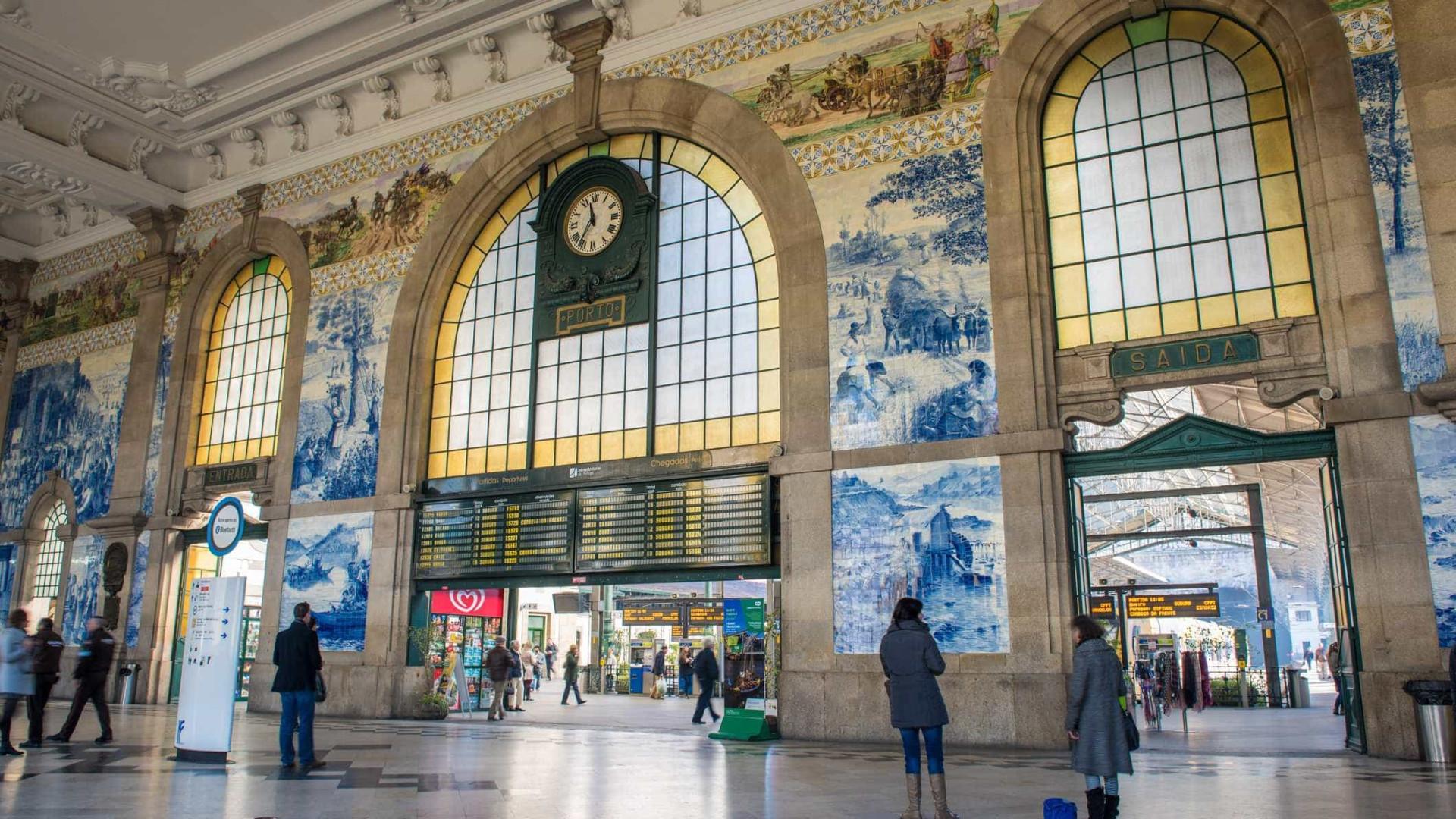 Estação no Porto aberta 24 horas para 'trocar' abraços por euros