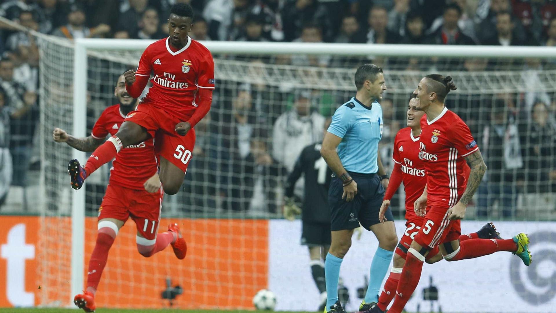 Benfica recompensa talento de Semedo, Guedes e Ederson