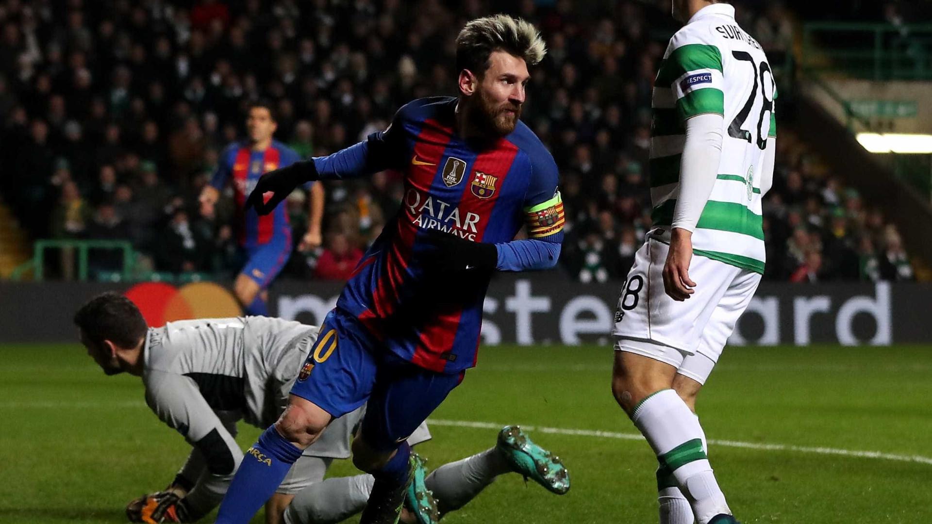 PSG entra em contactos com... o pai de Messi