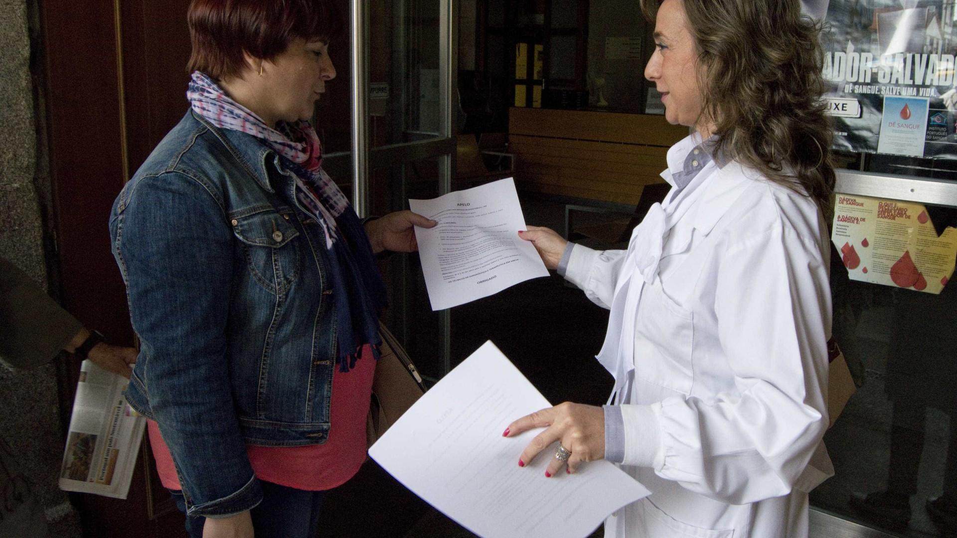Técnicos de diagnóstico e terapêutica mantêm greve de dois dias