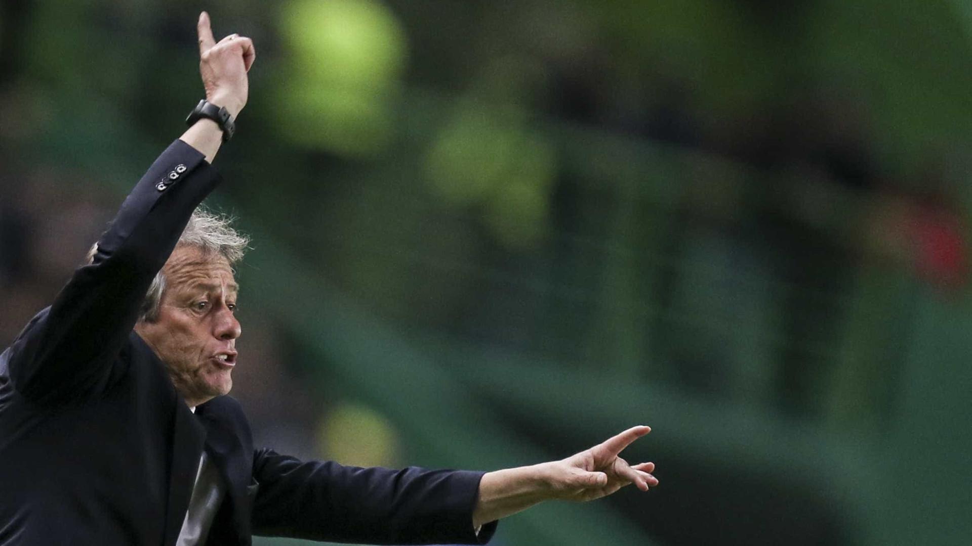 Jorge Jesus reage a morte do amigo Caio Júnior, treinador da Chapecoense