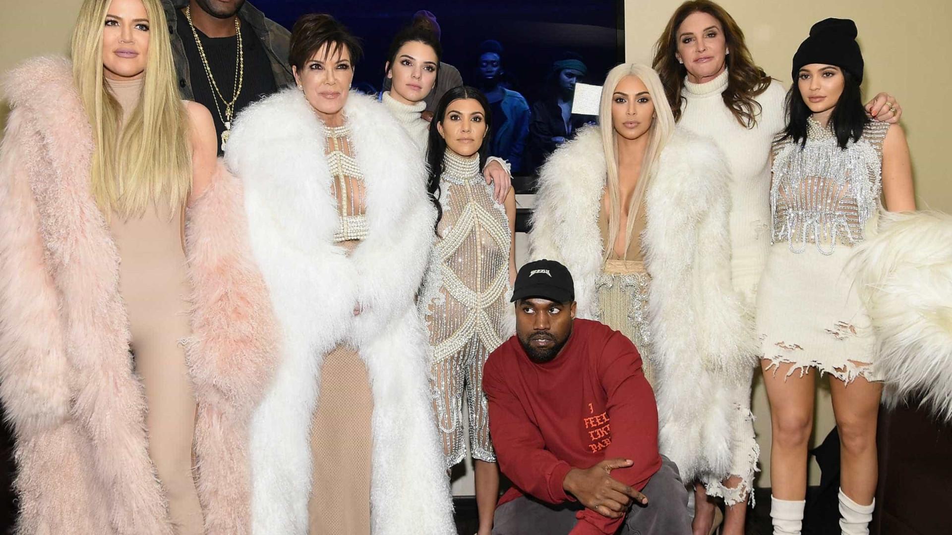 """Reality show do clã Kardashian poderá ter """"os dias contados"""""""