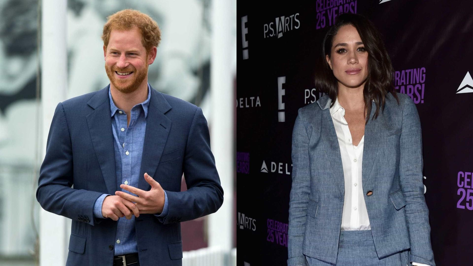 Veja a namorada do príncipe Harry a trabalhar