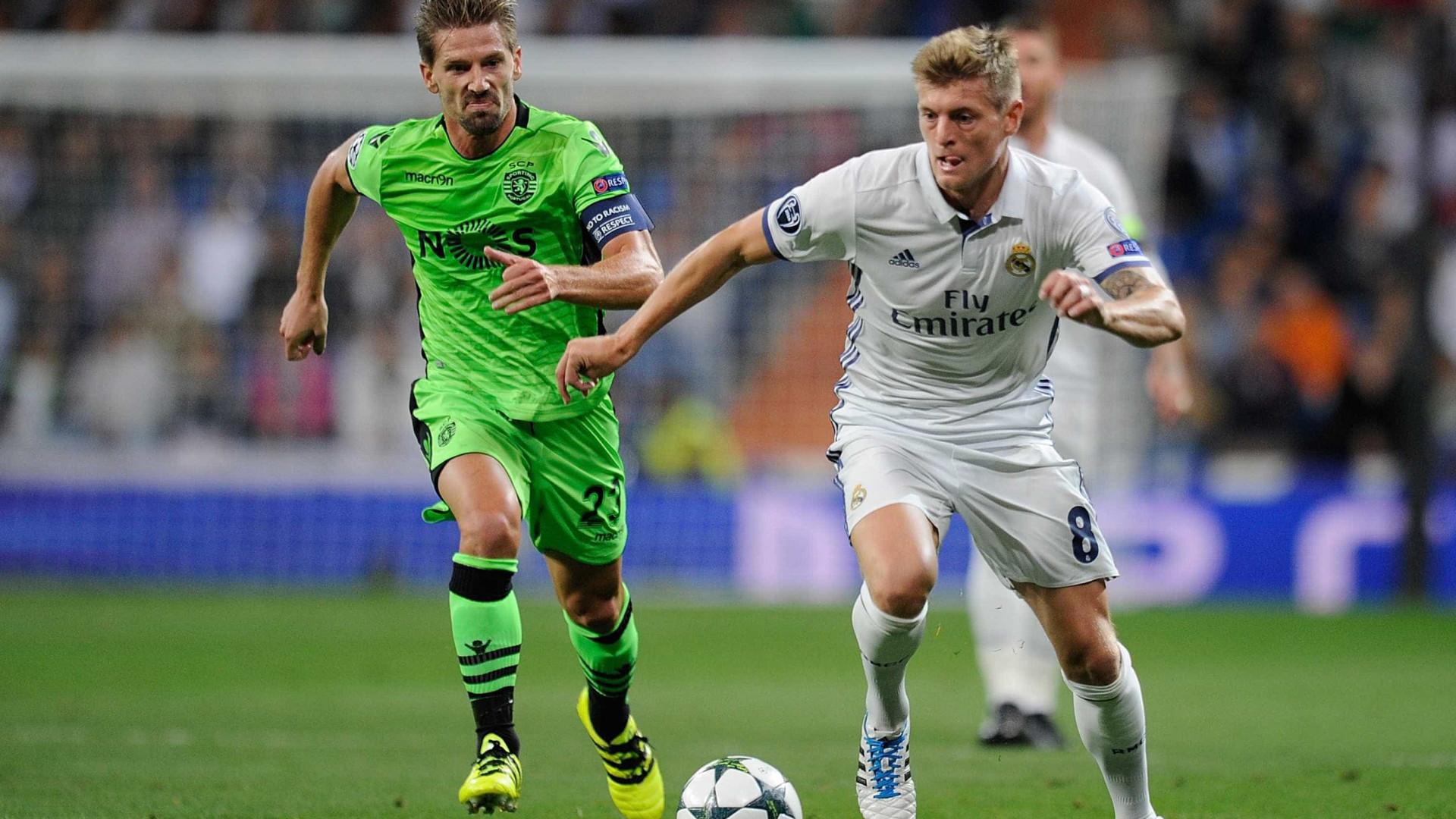 Que jogadores do Real Madrid, Kroos levava para a seleção alemã?