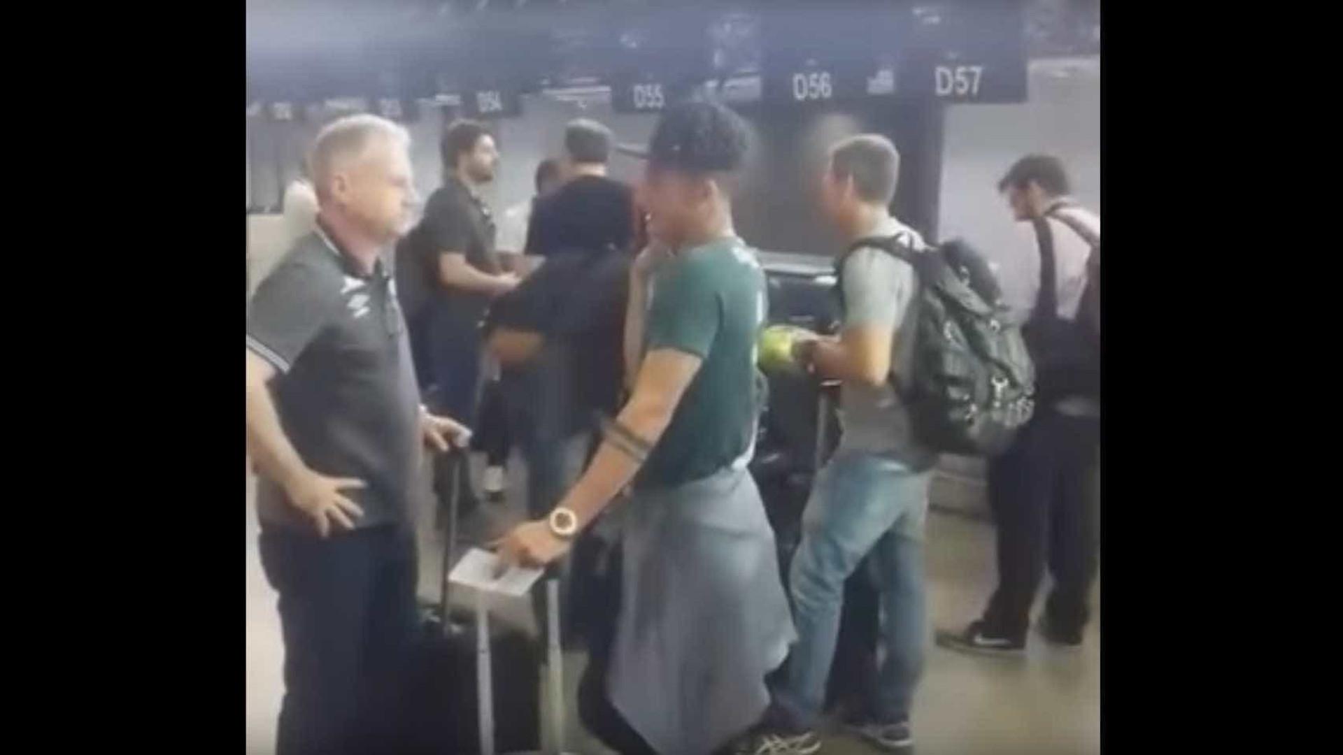 Chapecoense queria fazer história e há vídeo de antes da partida