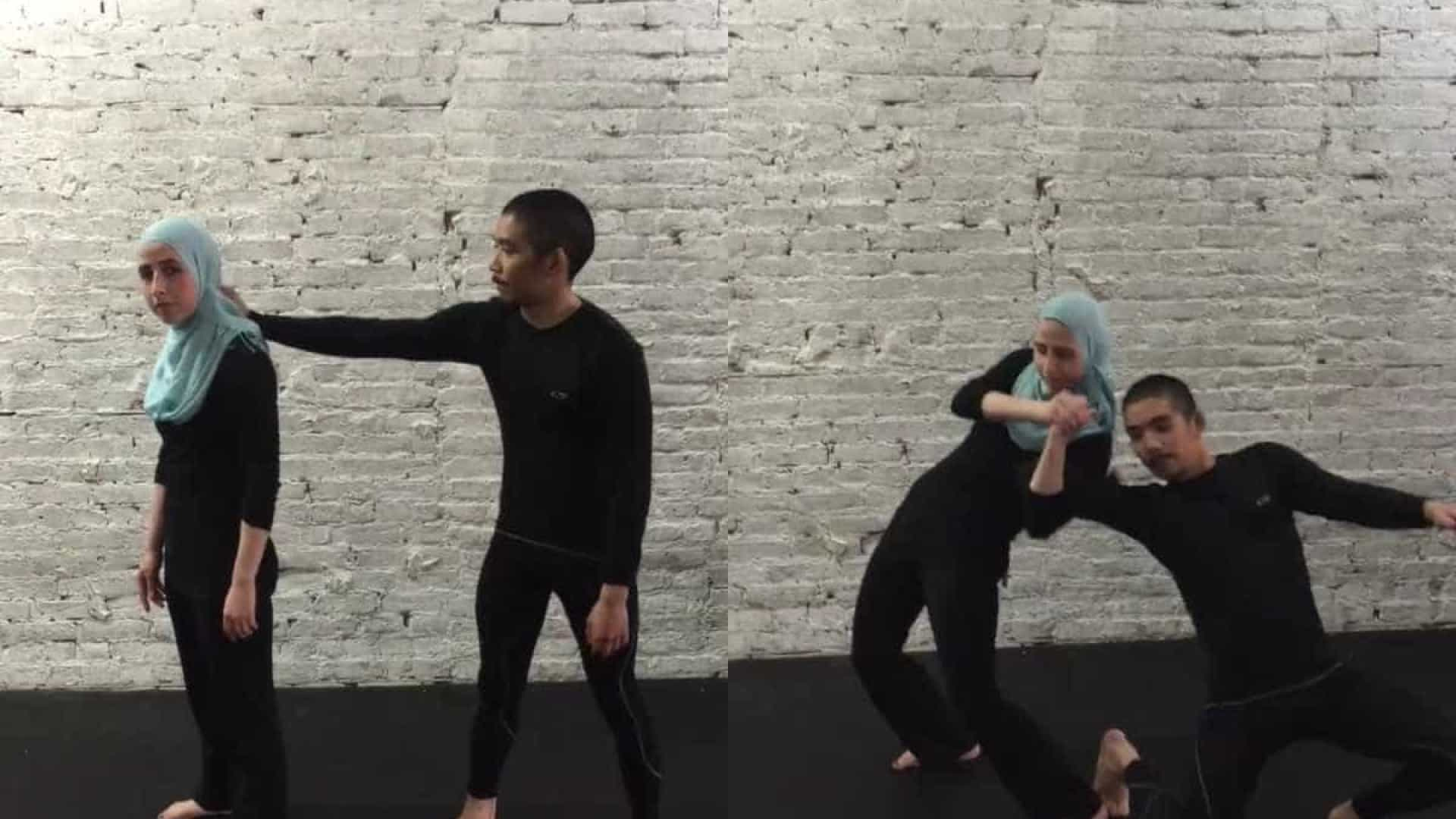 Jovem muçulmana partilha vídeo viral de auto-defesa