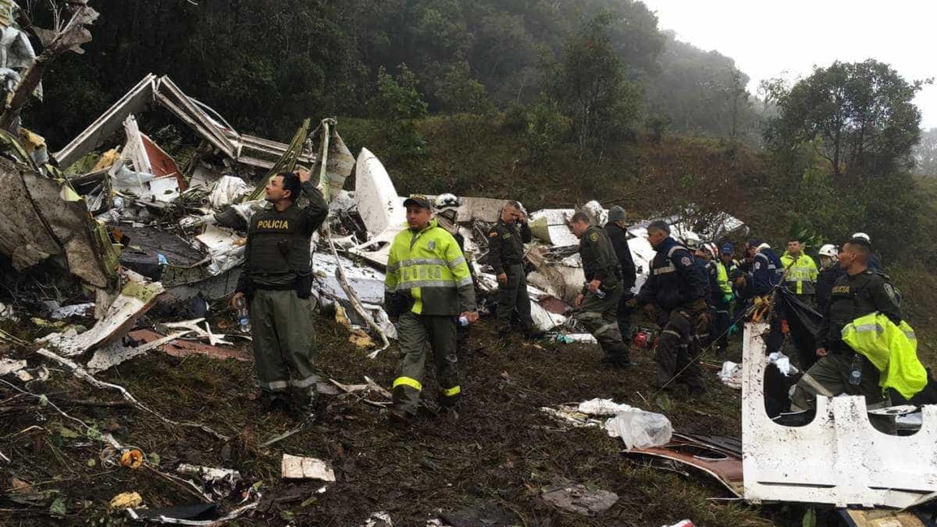 Colômbia: Pelo menos 22 jornalistas brasileiros viajavam no avião