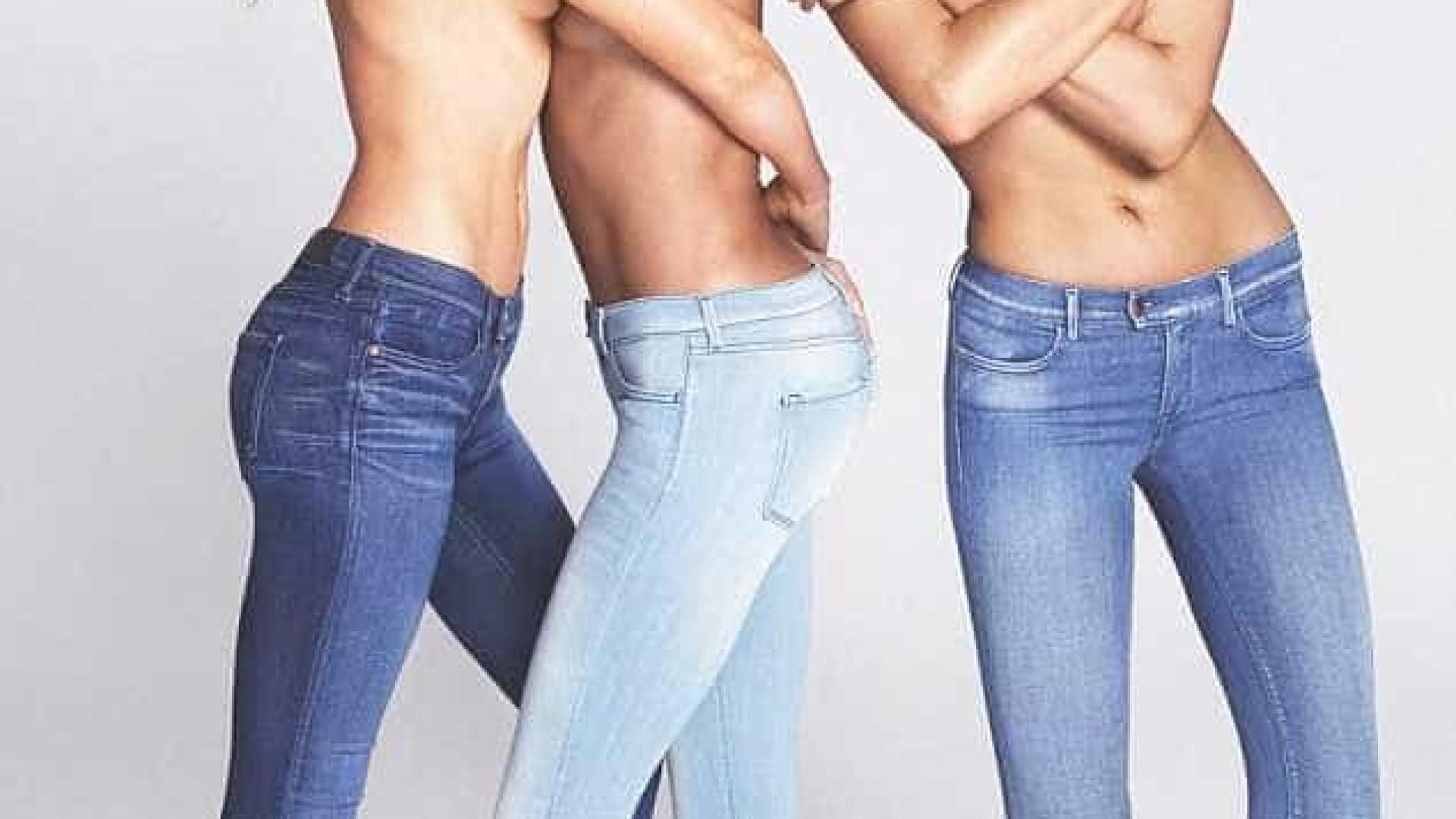 Irina Shayk volta a seduzir em campanha (e em topless, outra vez)