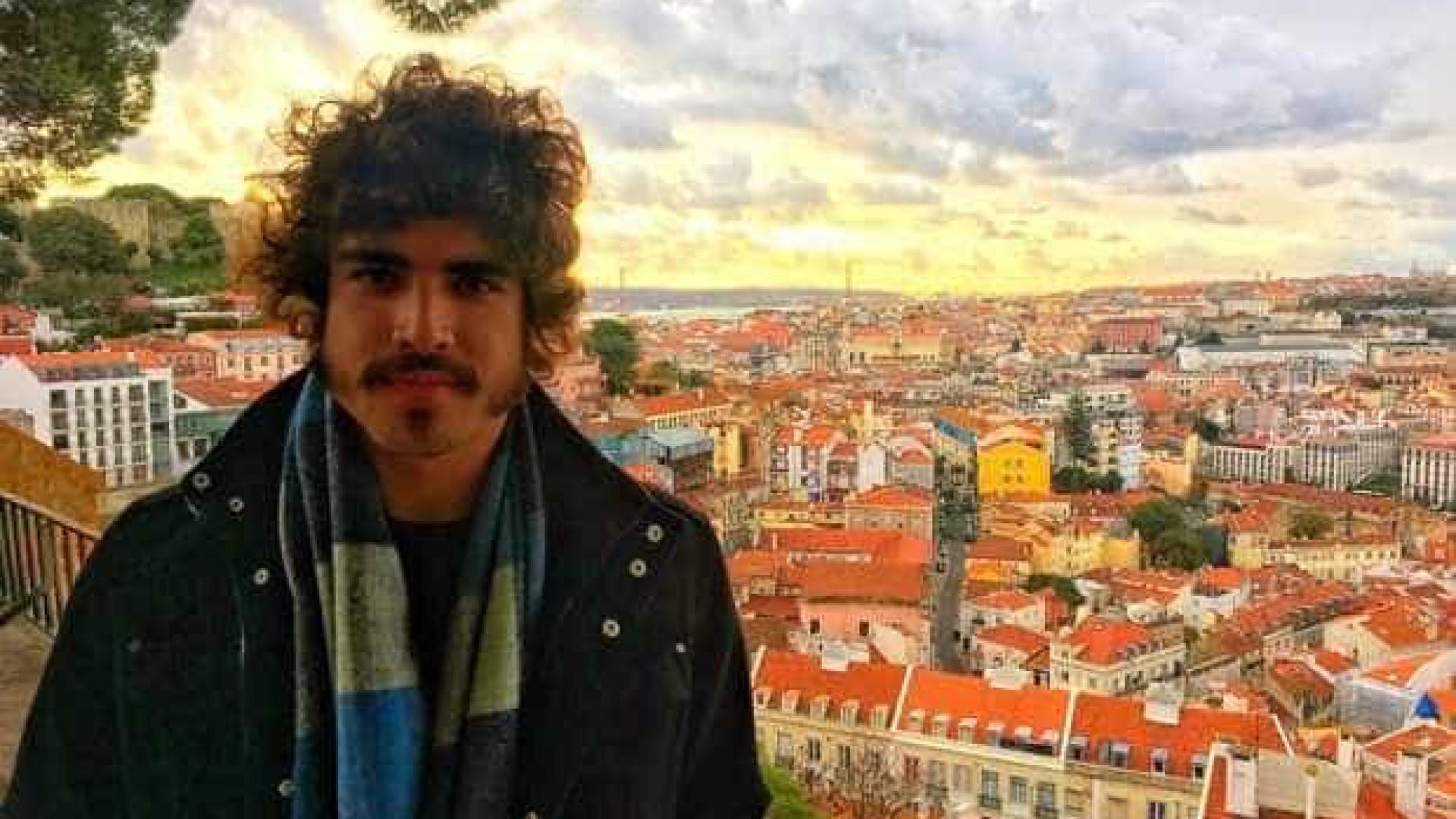 Caio Castro veio a Portugal, mas não para passar férias