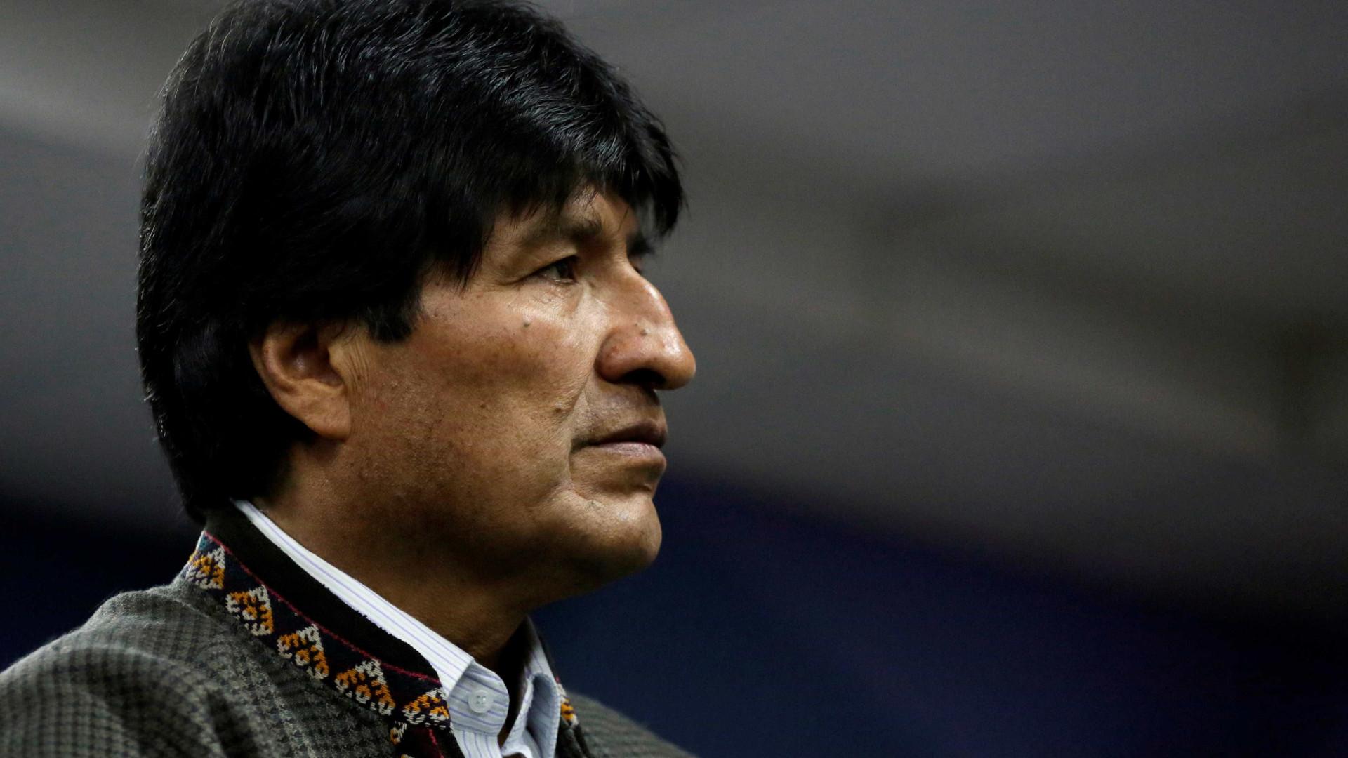 Presidente boliviano expressa condolências a famílias de vítimas