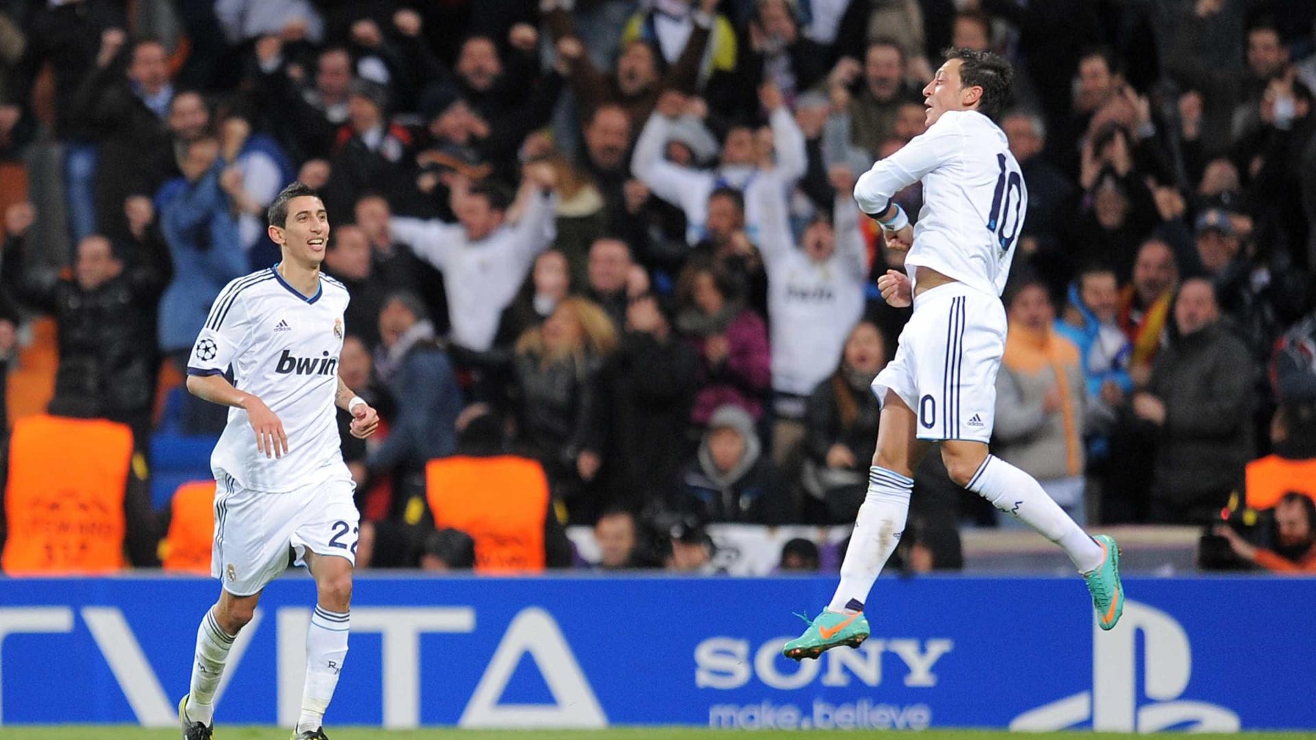 Di María e Mesut Ozil tencionam voltar ao Real Madrid