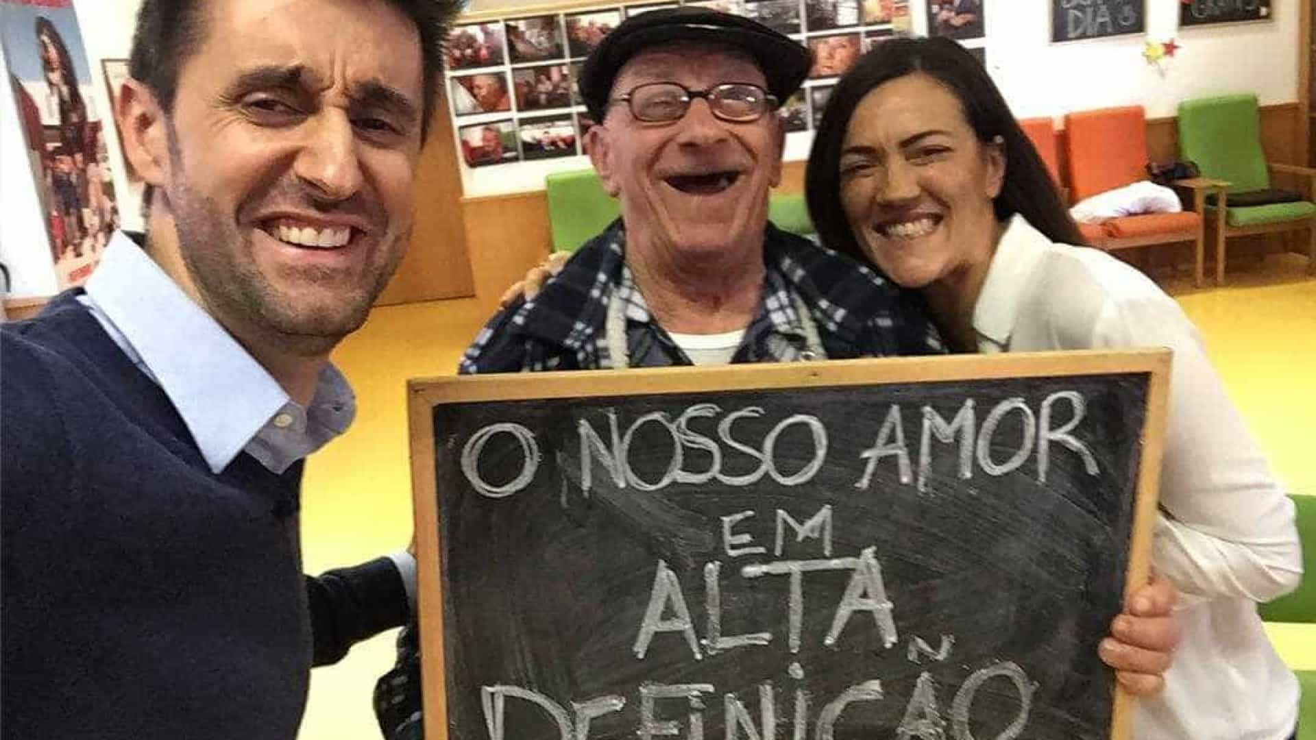 """Daniel Oliveira: """"Visitámos o Sr. Alfredo para lhe agradecer a parodia"""""""