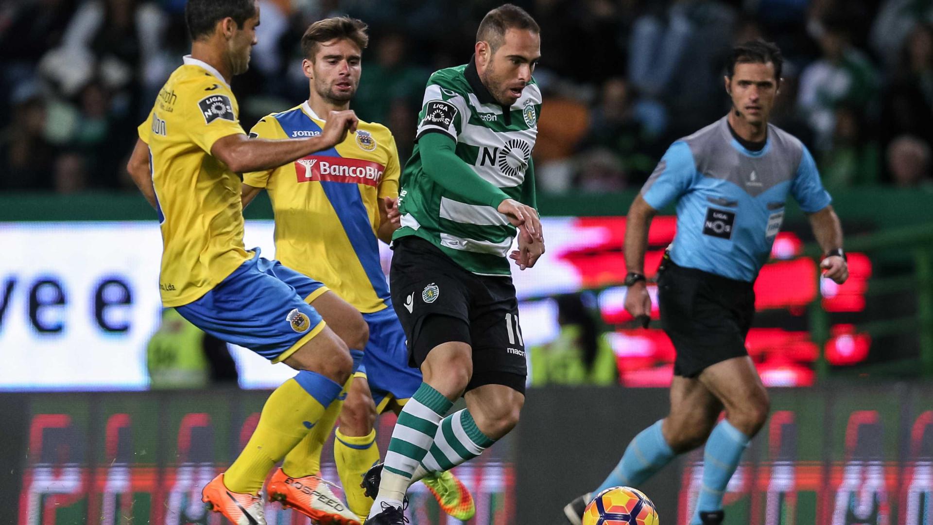 Sporting arranca na Taça da Liga com receção ao Arouca
