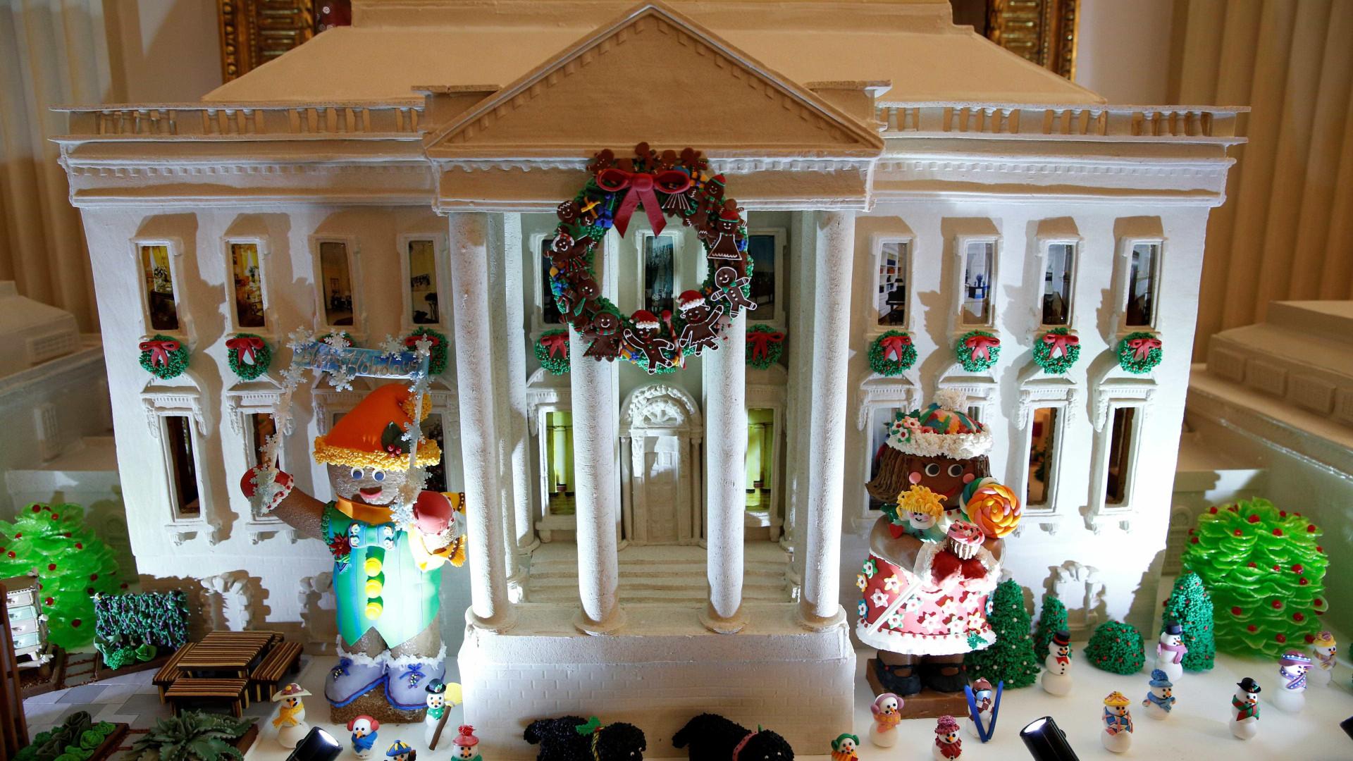 Os Obama preparam-se para o seu último Natal na Casa Branca