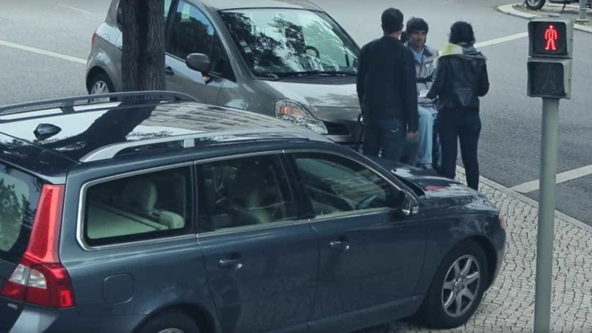 GNR e a Associação Salvador unidas para prevenir estacionamento abusivo