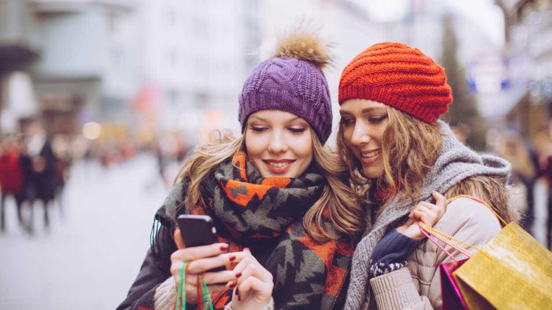Portugueses usam internet antes de comprar, mas preferem ver montras