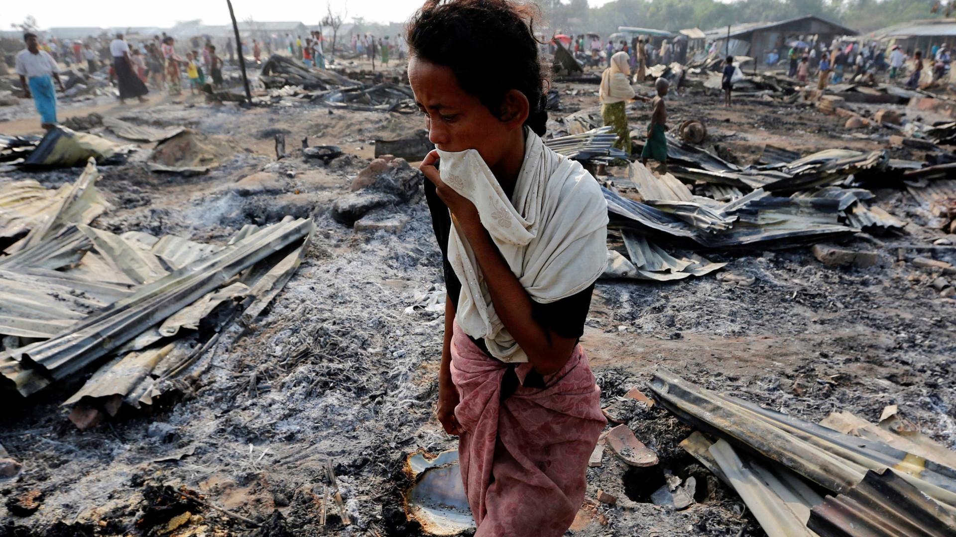ONU pede a Bangladesh que receba refugiados da minoria rohingya em fuga