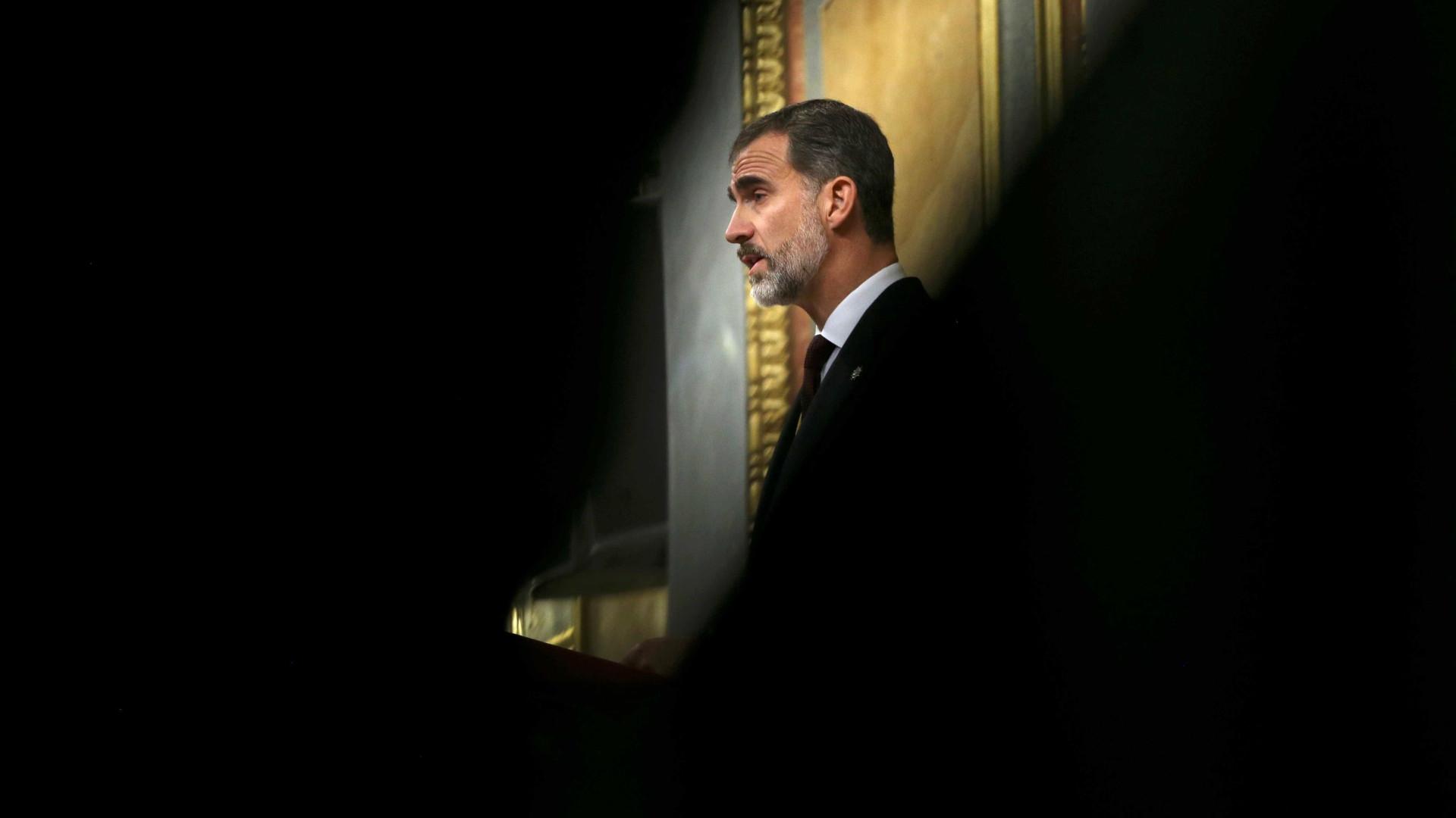 Rei de Espanha diz que Constituição prevalecerá sobre a desunião