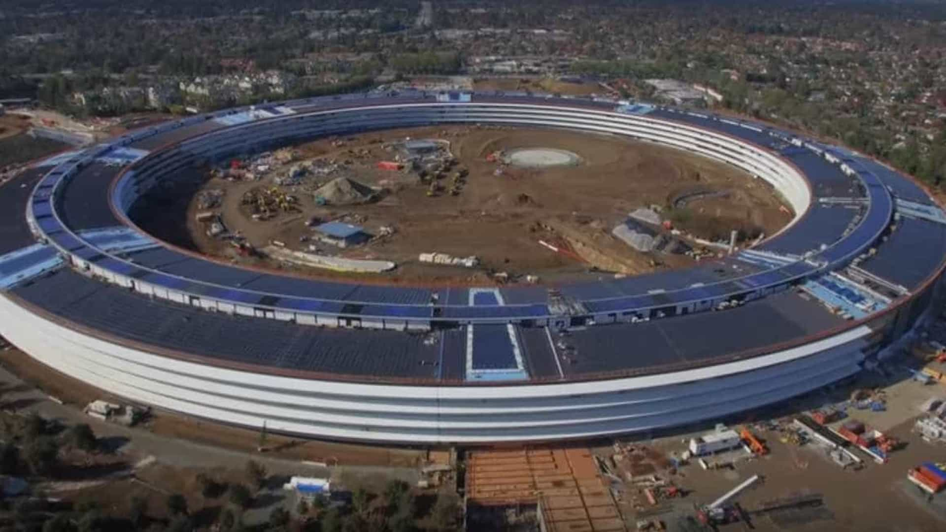 Apple mostra o (pouco) que falta para concluir o seu novo campus
