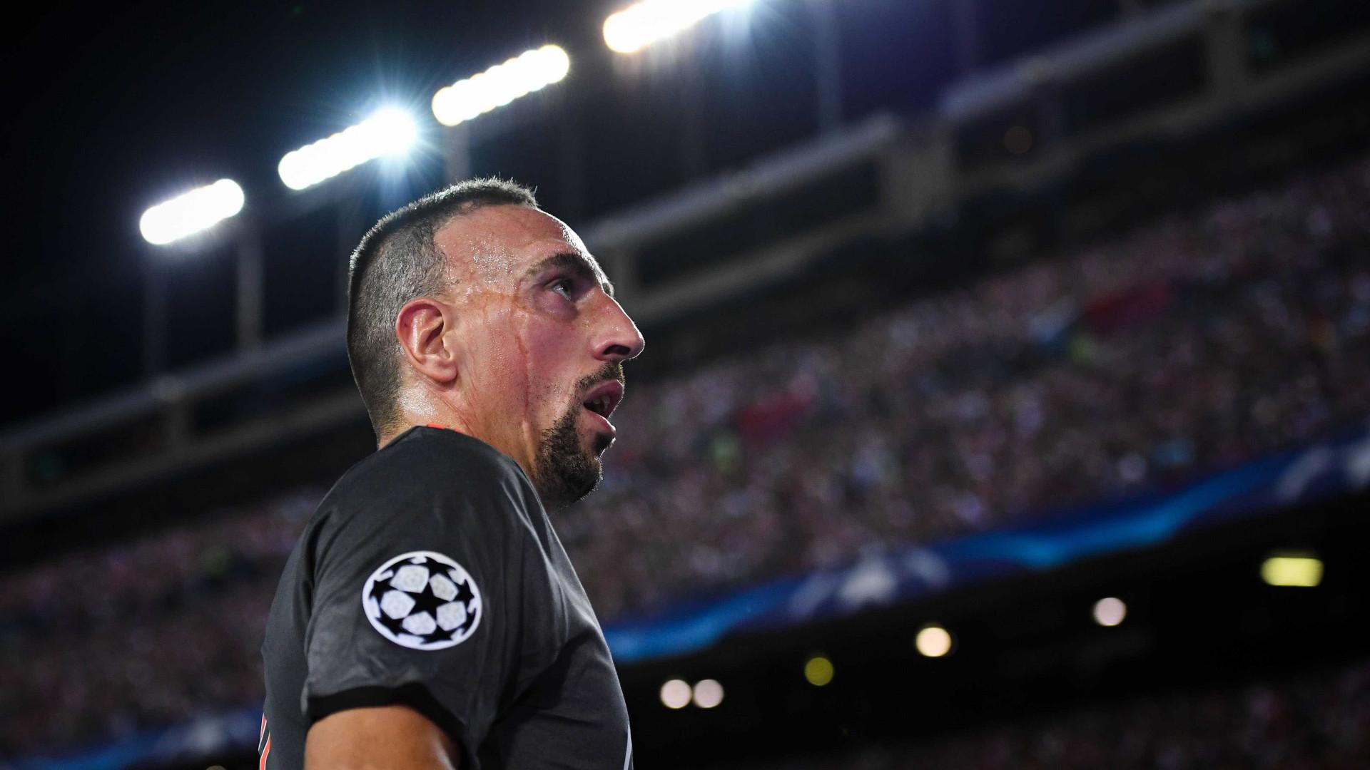 """Ribéry renova e garante: """"Estou de volta"""""""