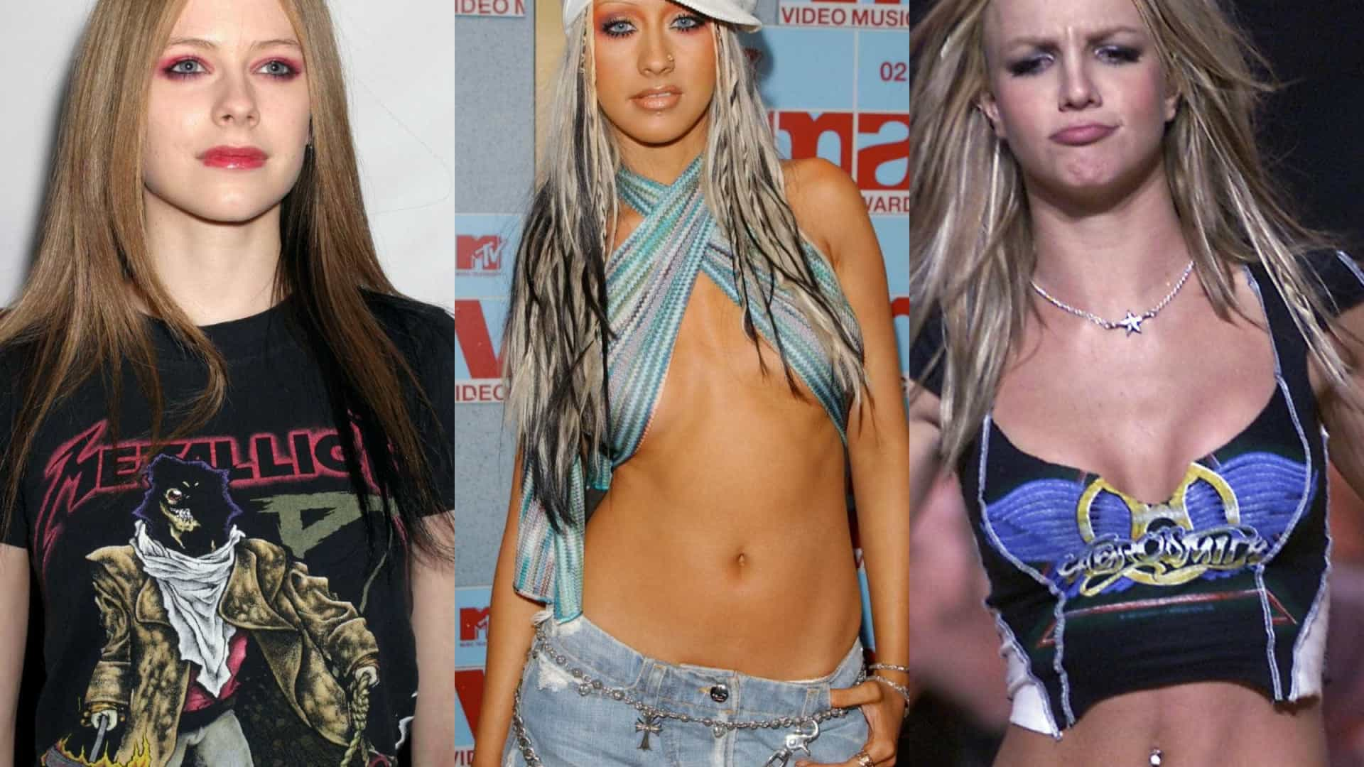 Como estão as 'bad girls' dos anos 2000