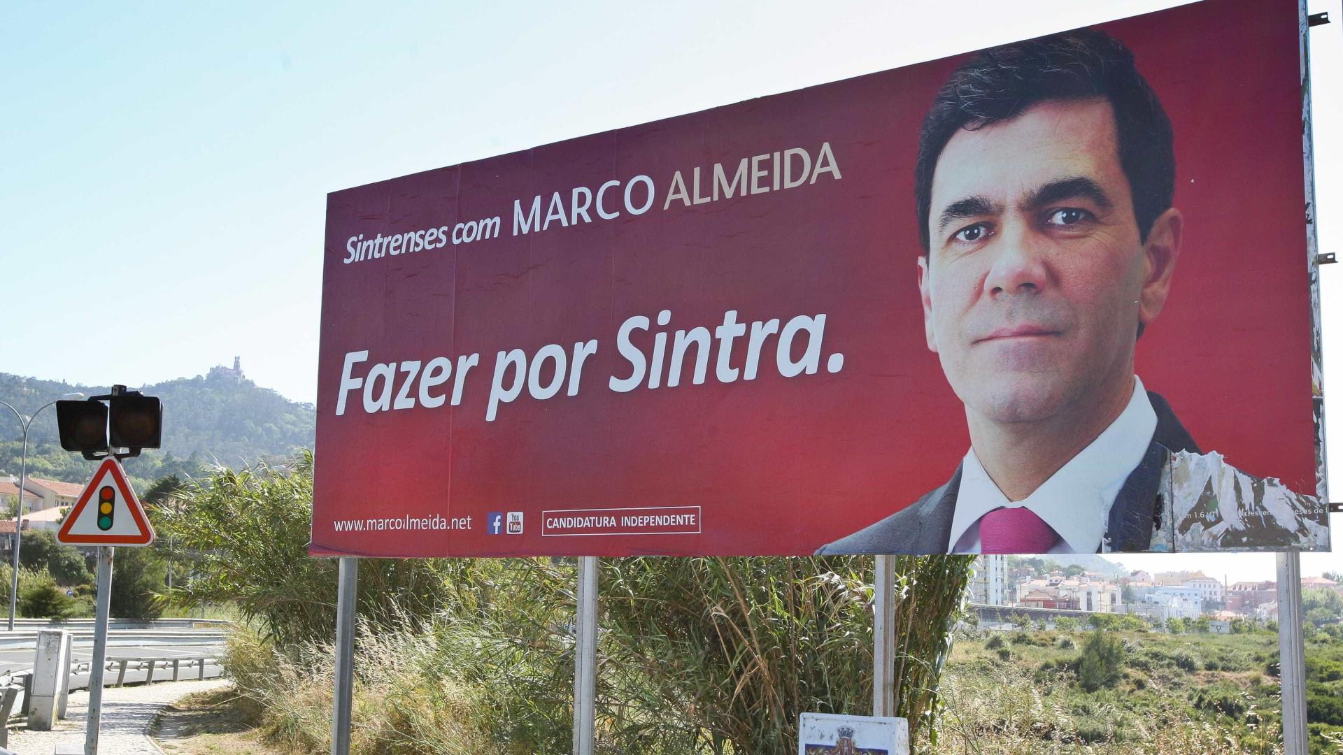Independente Marco Almeida recandidata-se a Sintra com apoio do PSD